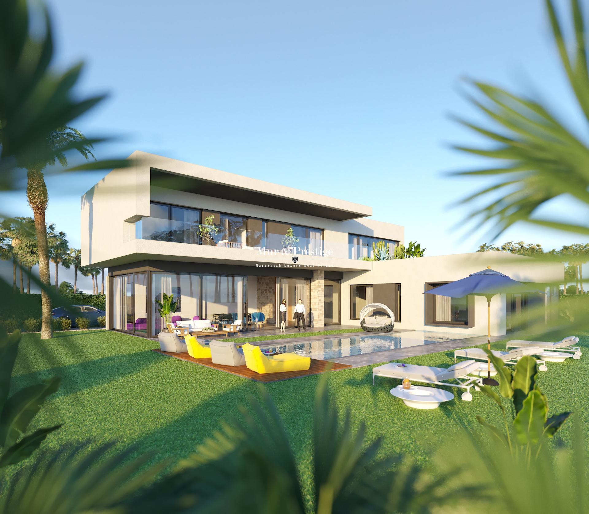 Villa neuve à vendre à 10min du centre-ville