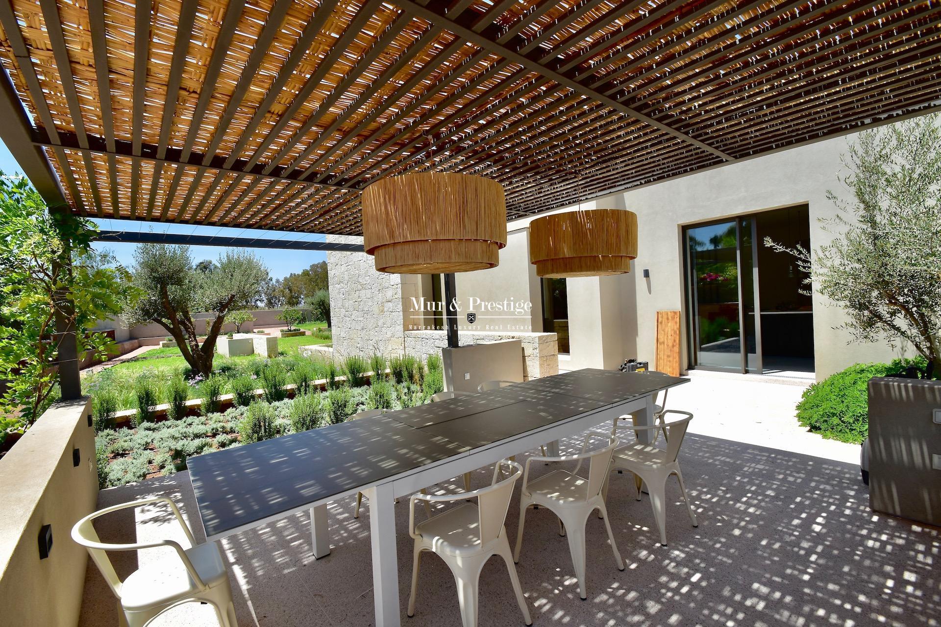 Agence immobilière à Marrakech - Villa d'architecte à vendre  - copie