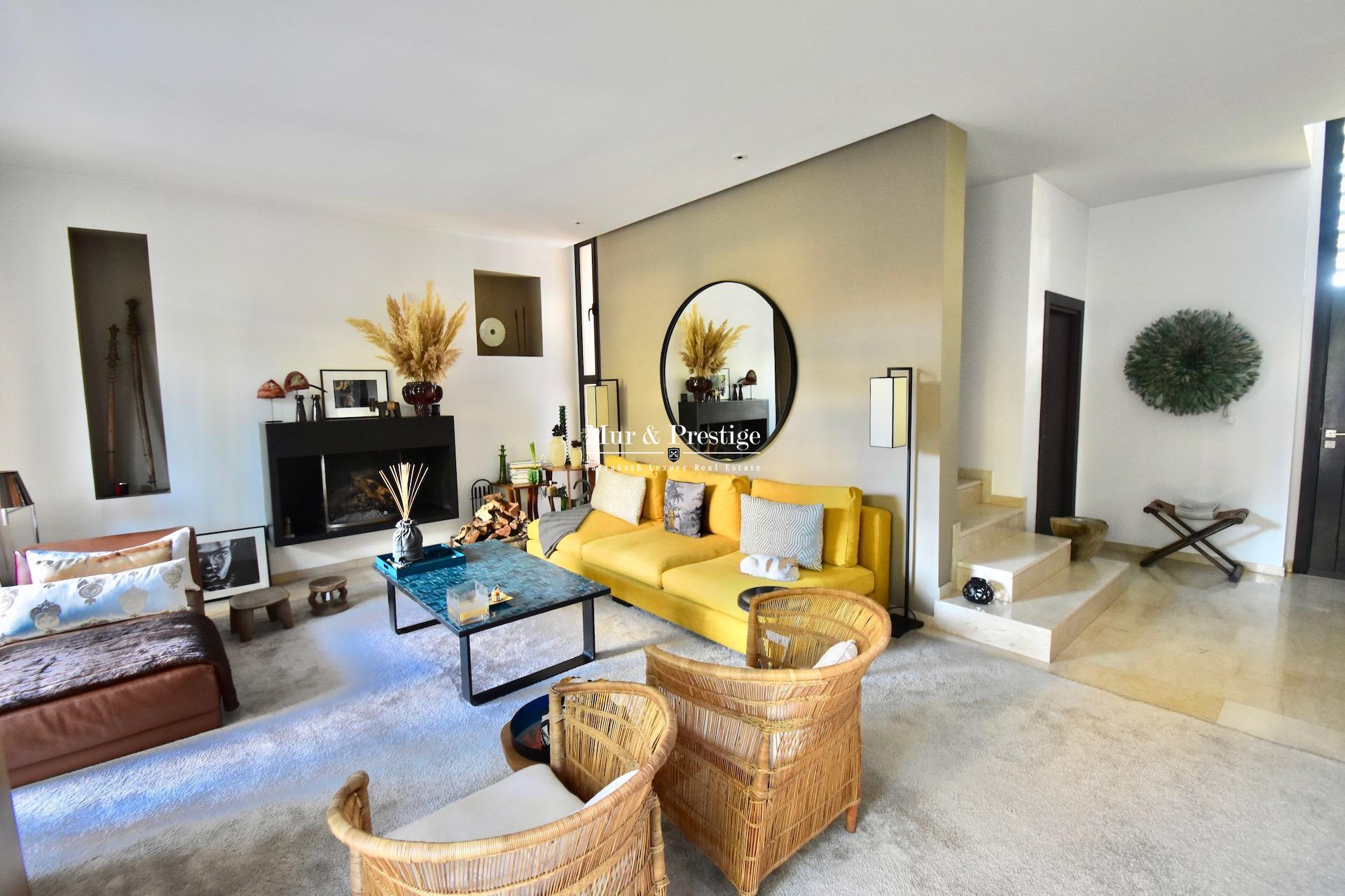 Agence immobilière Marrakech – Villa à vendre au Golf  AL MAADEN –