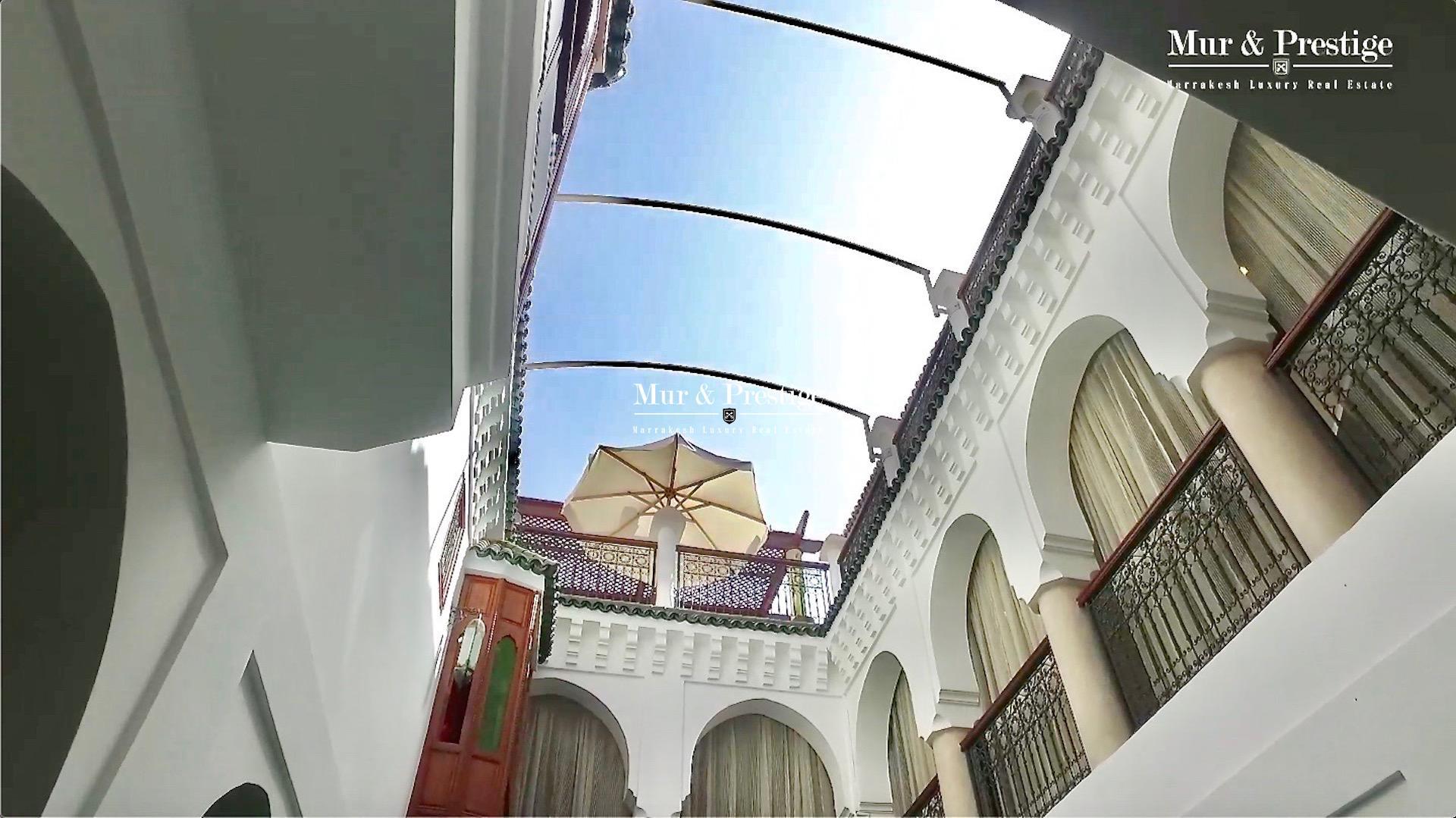 Agence Immobilière à Marrakech - Riad à vendre dans la Médina