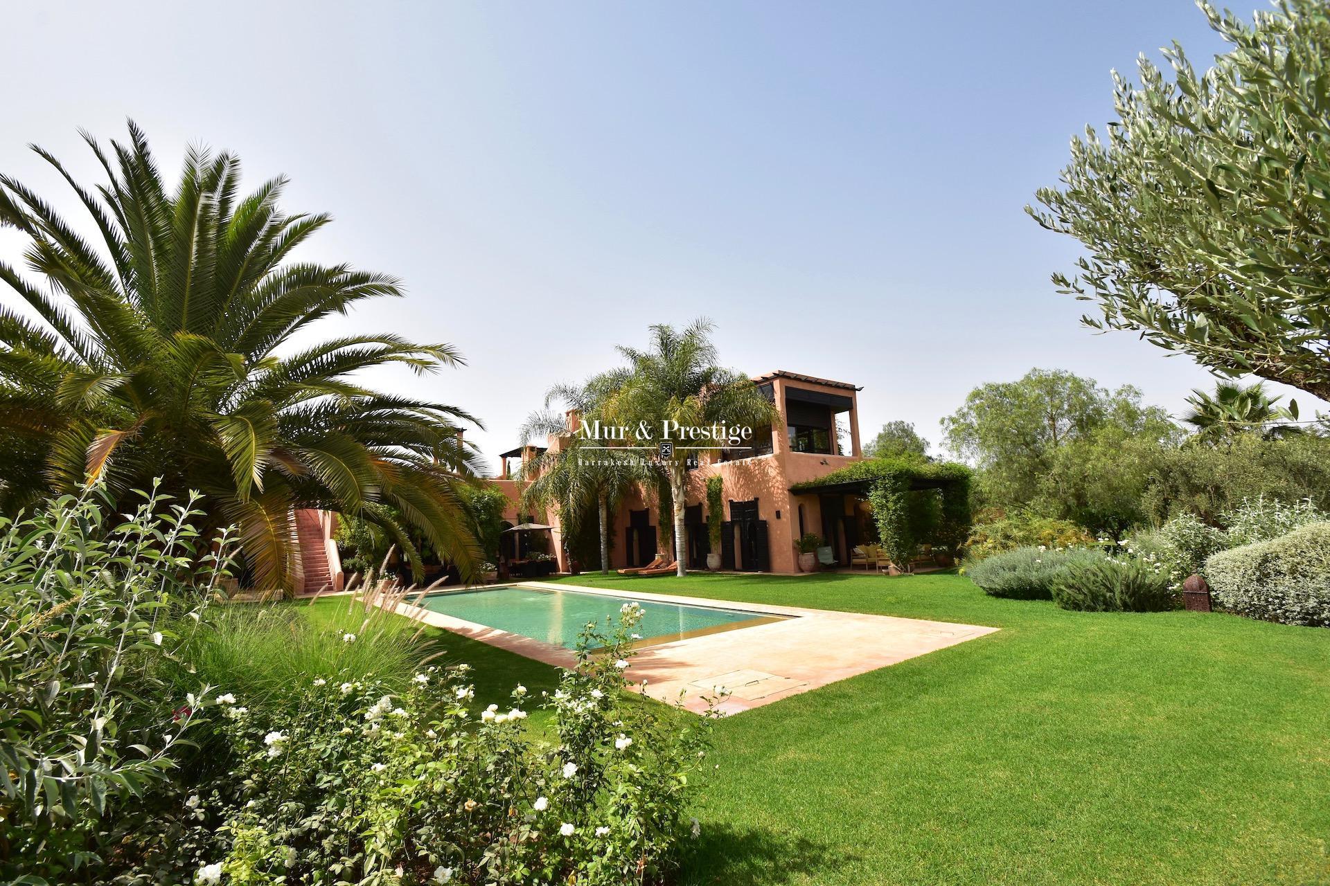 Maison esprit Beldi Chic à vendre à Marrakech