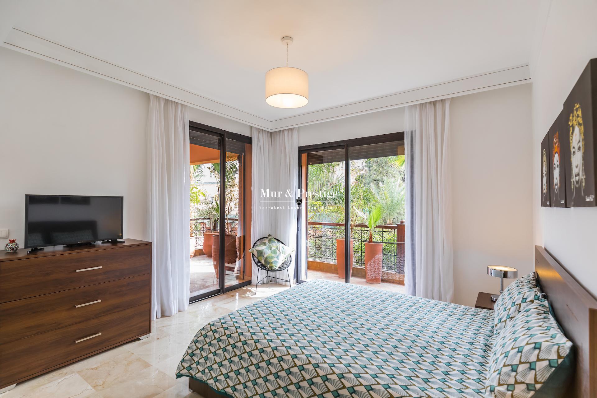 Appartement au coeur de l'Hivernage à Marrakech à vendre