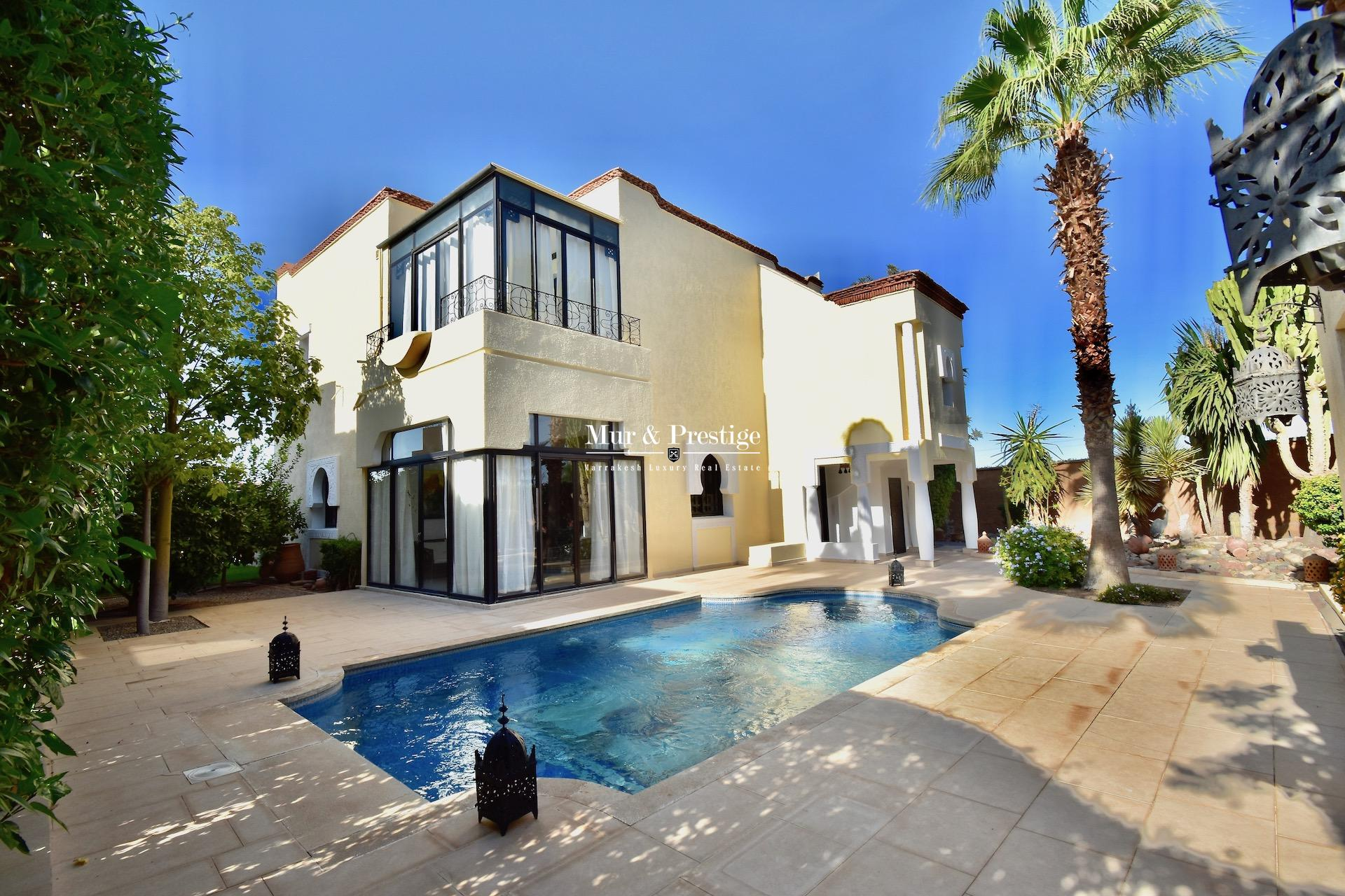 Maison de Charme à Vendre - Agence Immobilière Marrakech