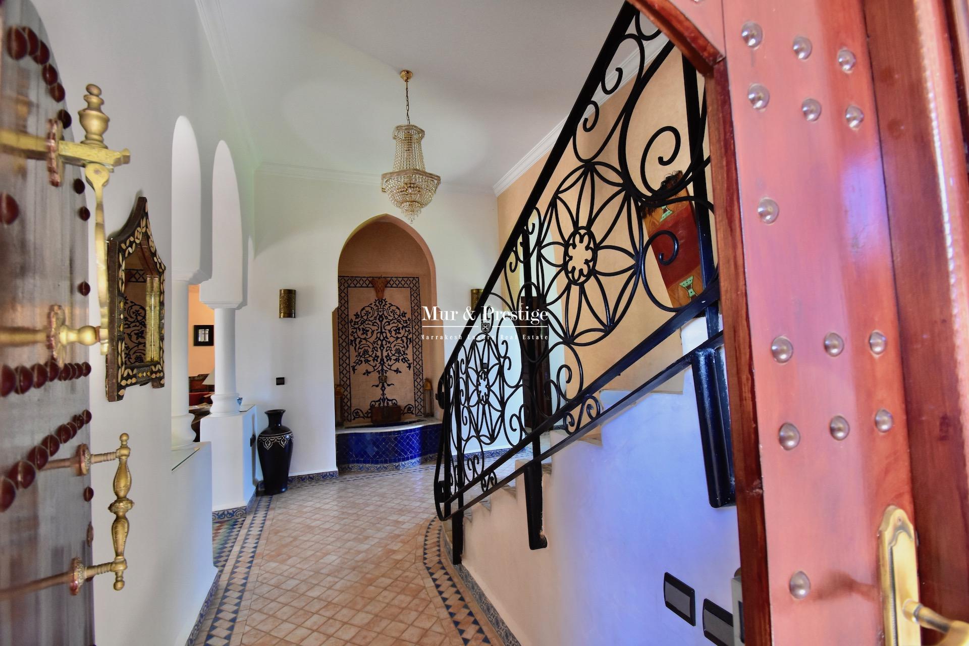 Agence Immobilière à Marrakech - Maison à vendre proche du centre