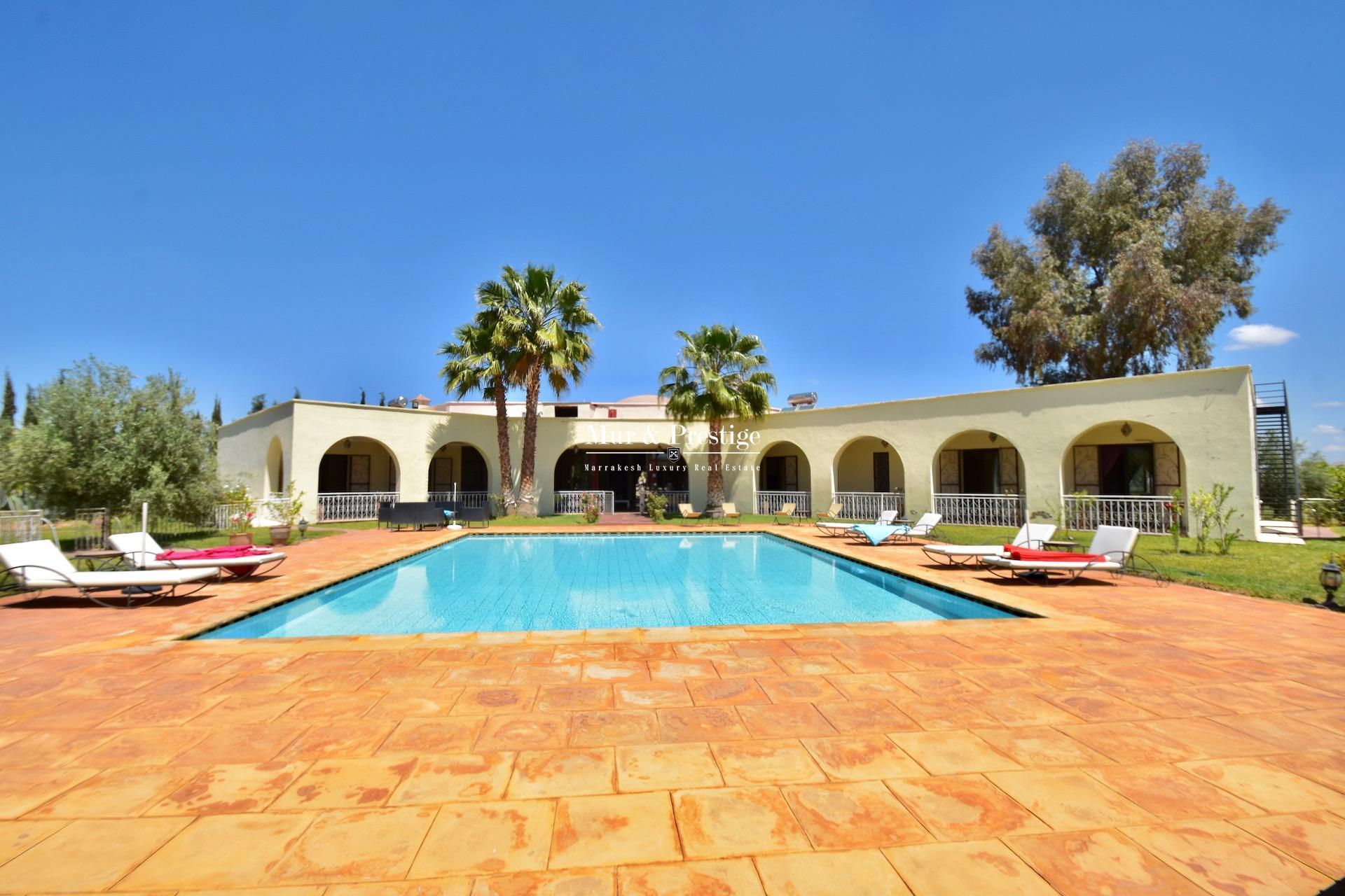Maison en vente route de l'Ourika à Marrakech