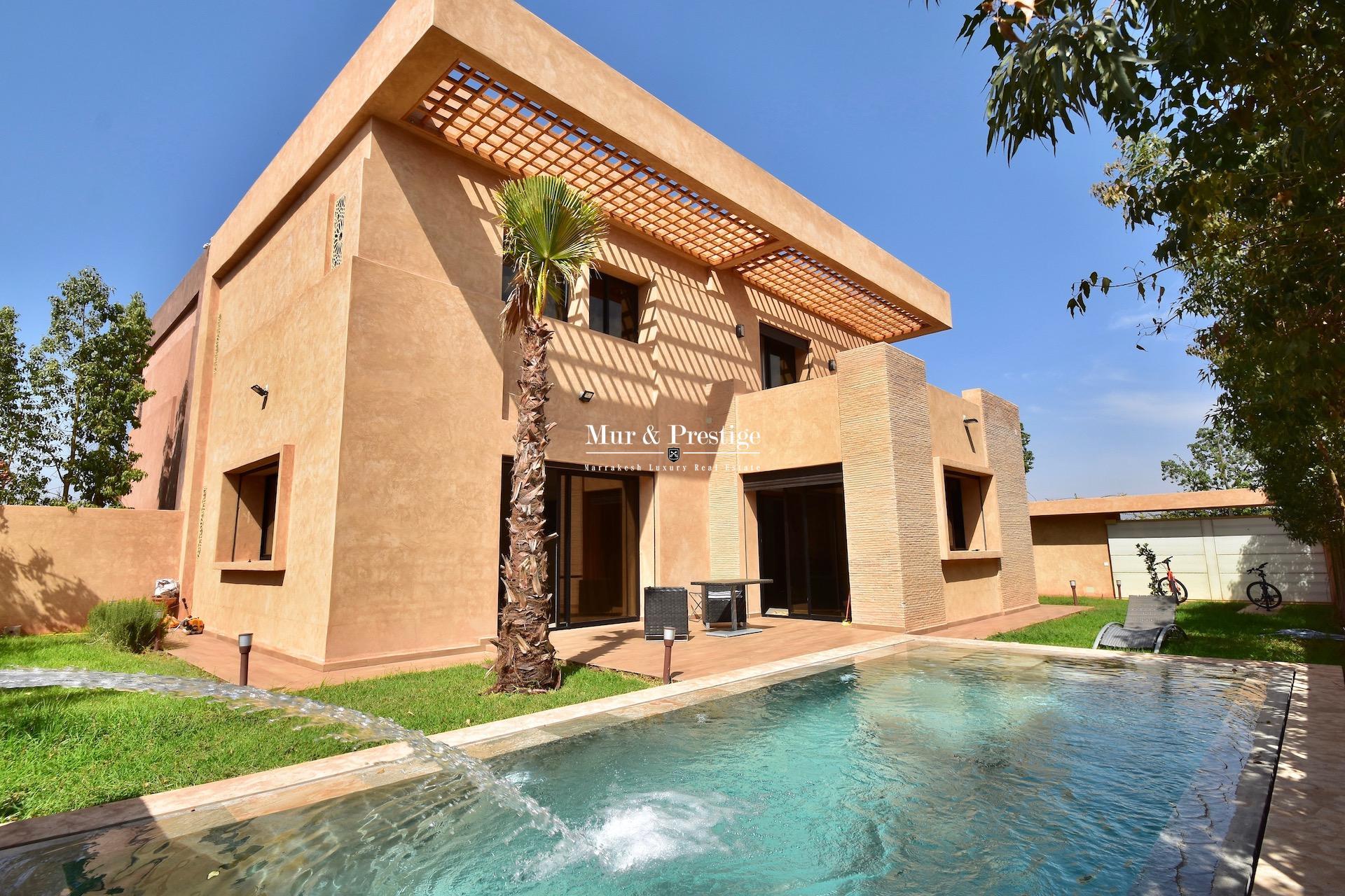 Agence Immobilière Marrakech - Vente Maison Moderne