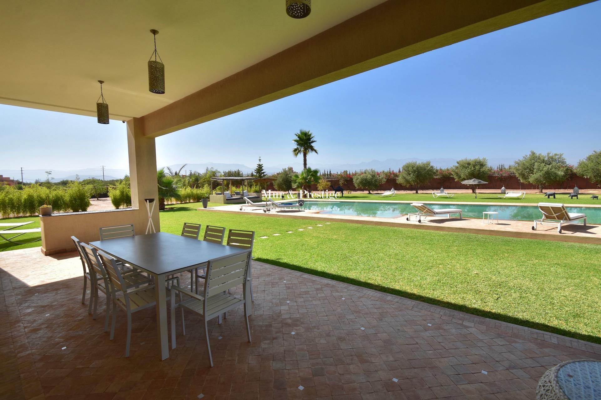 Agence Immobilière Marrakech - Propriété Moderne à Vendre