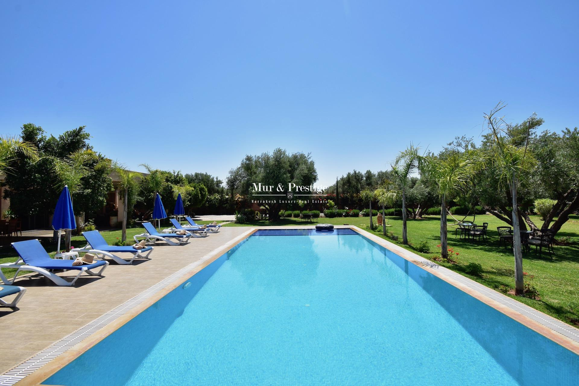 Agence Immobilière à Marrakech - Maison moderne à vendre