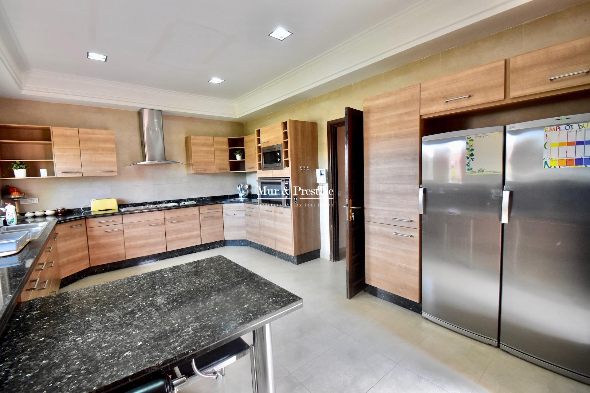 Agence immobilière Marrakech - Propriété de plain-pied à vendre à proximité du Golf Royal