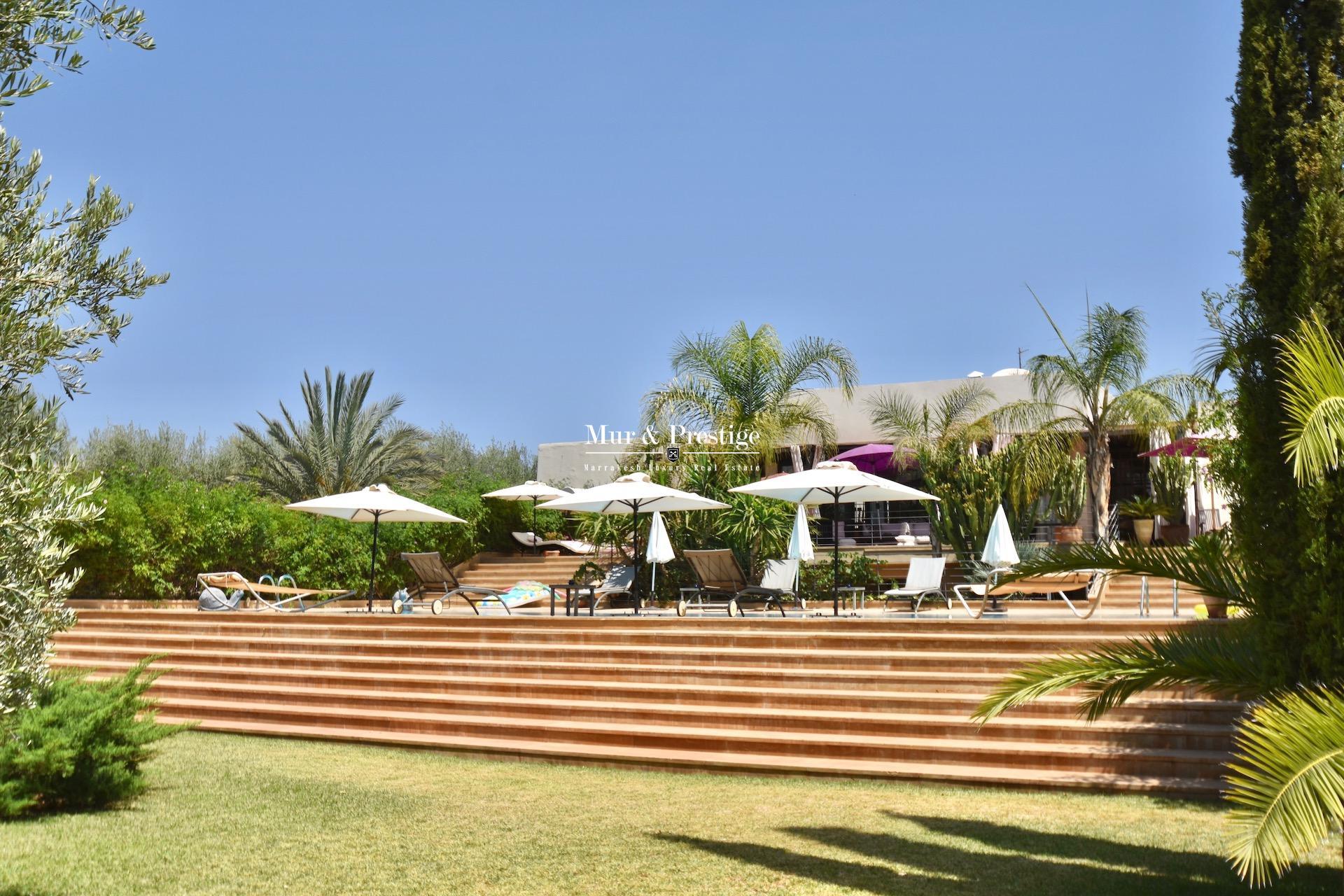 Villa à vendre à Marrakech sur la route Fès