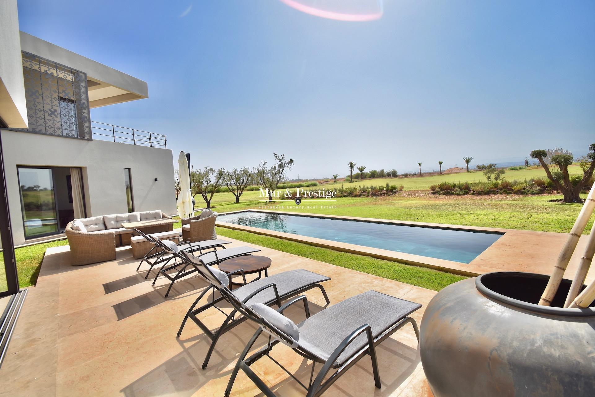 Maison à Vendre en Front de Golf à Amelkis Marrakech
