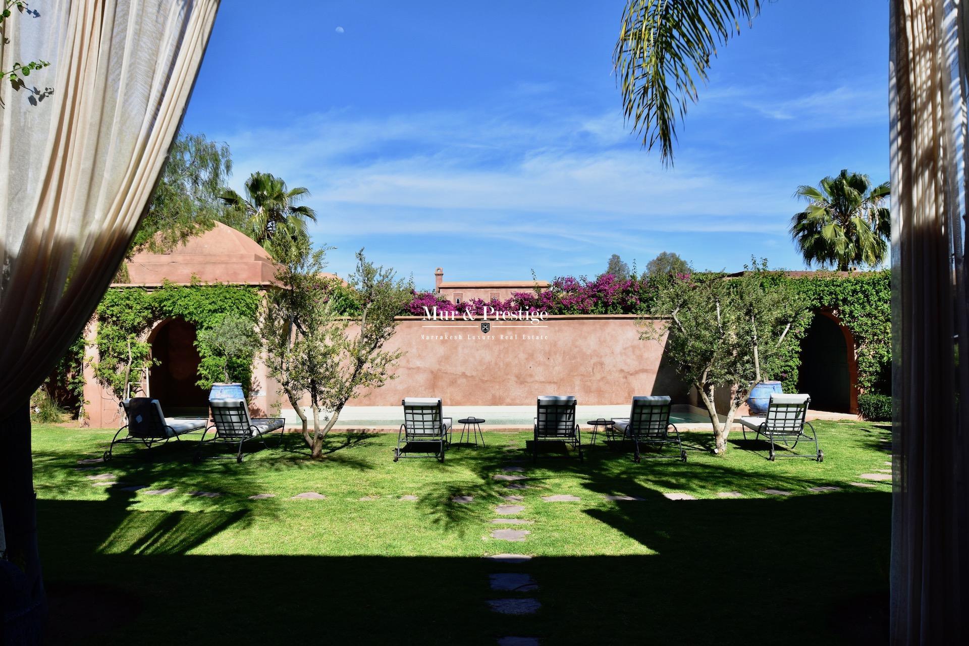 Agence Immobilière Marrakech - Location Vacances