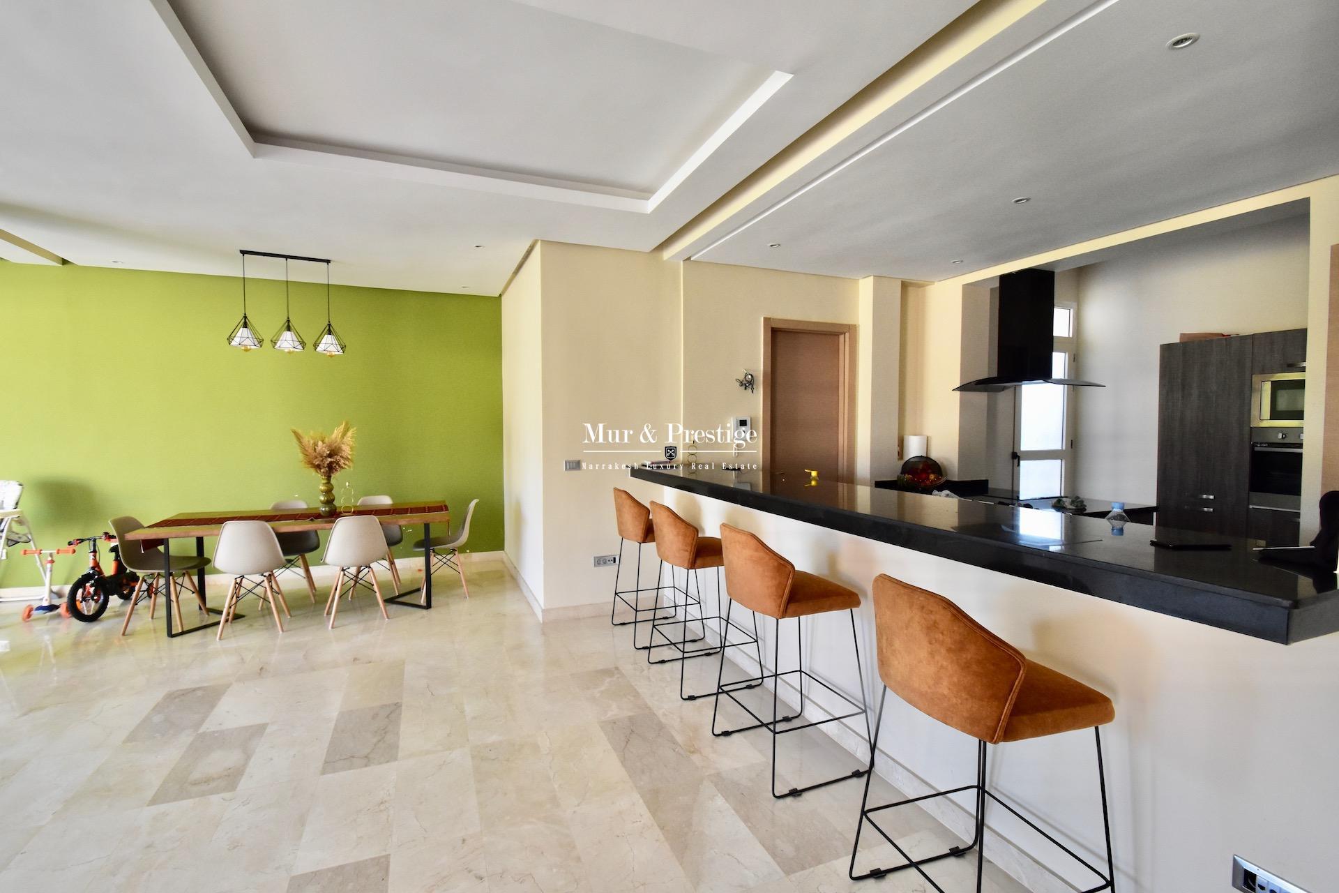 Maison moderne à vendre sur golf à Marrakech