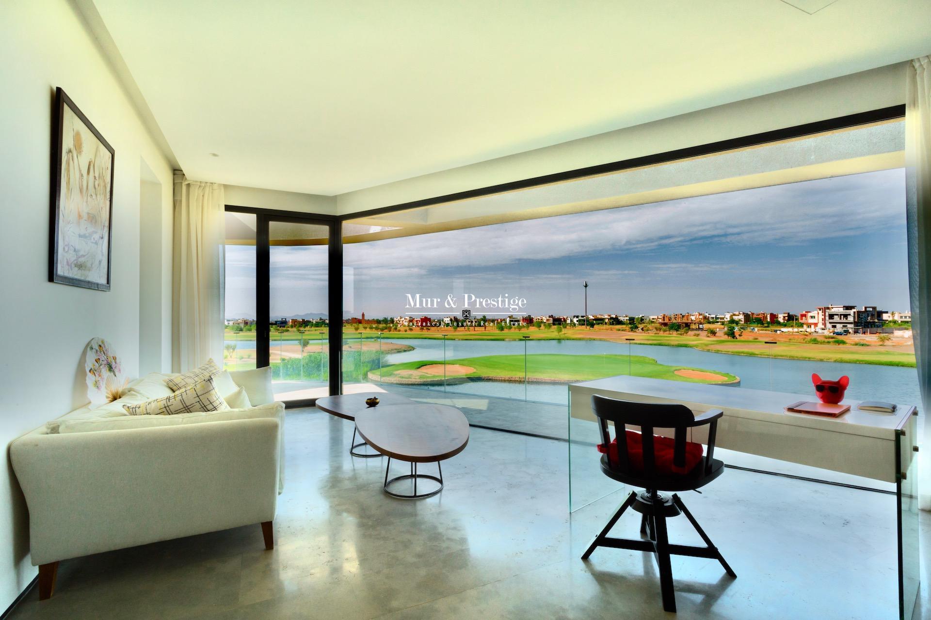 Villa en 1ère  ligne de Golf à Marrakech