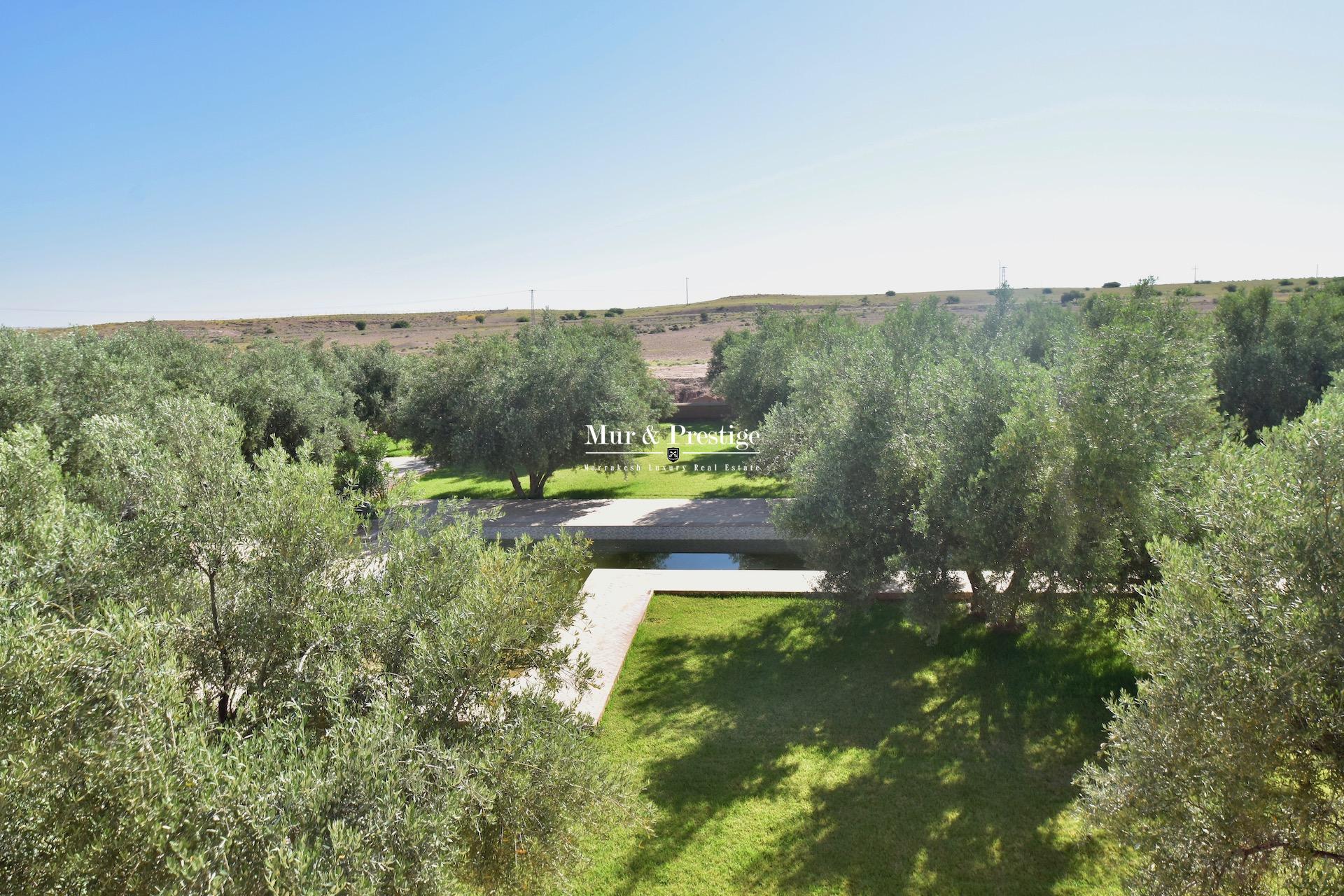 Maison au sein d�un cadre exceptionnel � Marrakech