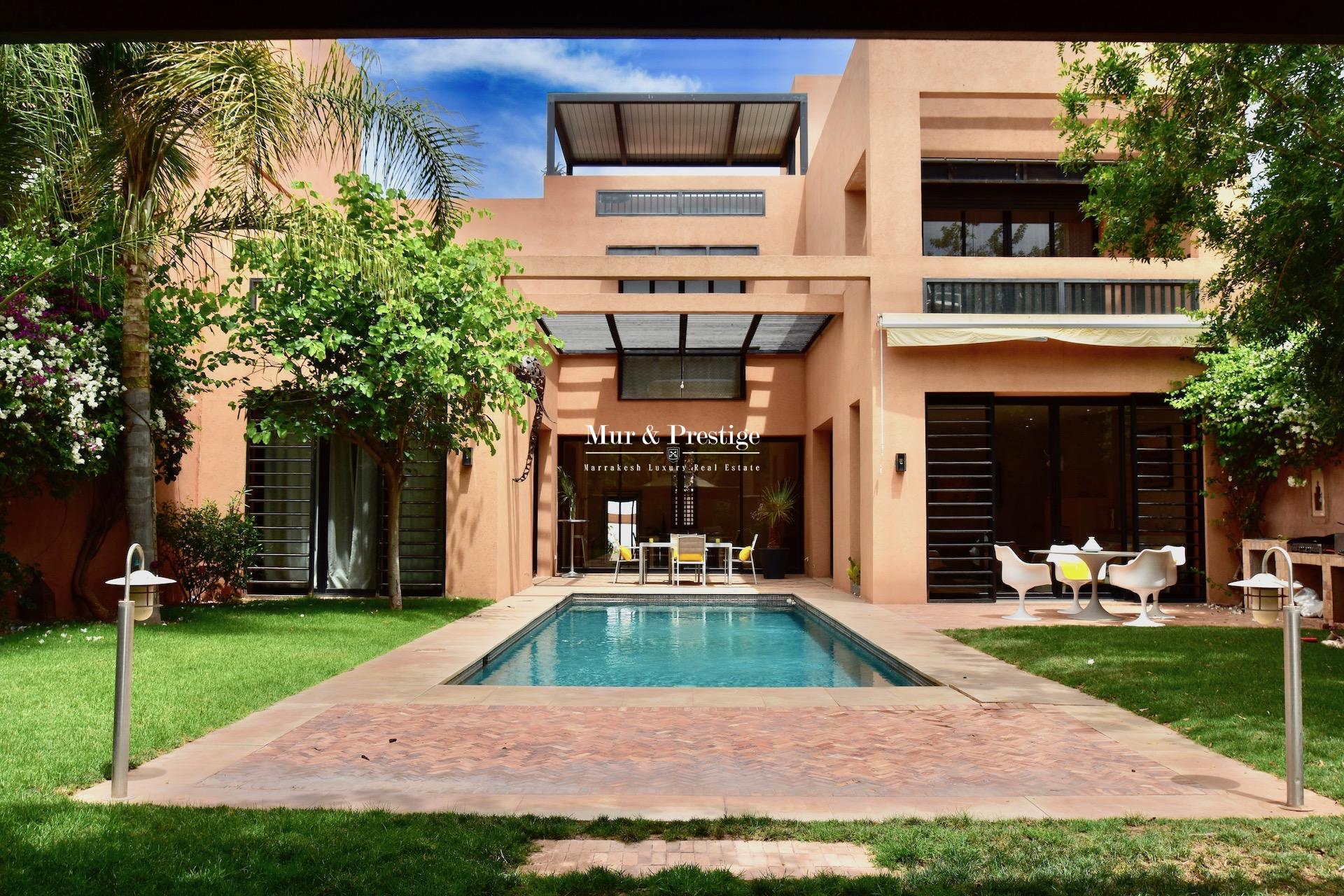 Riad à vendre à Marrakech sur le golf de AL MAADEN