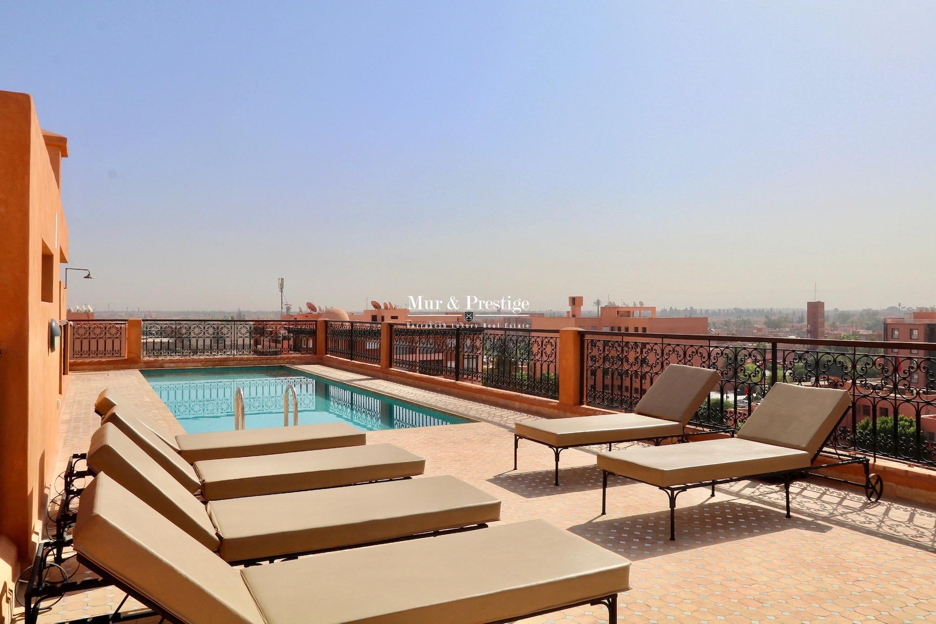 Duplex 5 chambres avec piscine à vendre