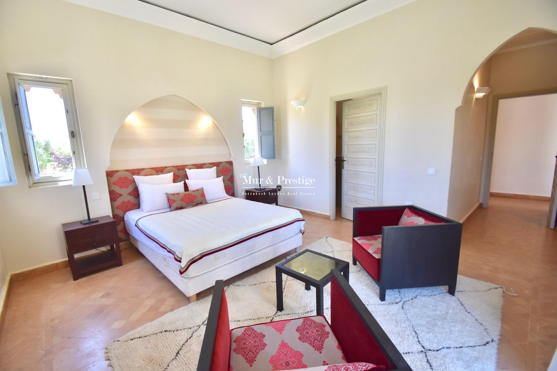 Maison à vendre à Marrakech au design marocain