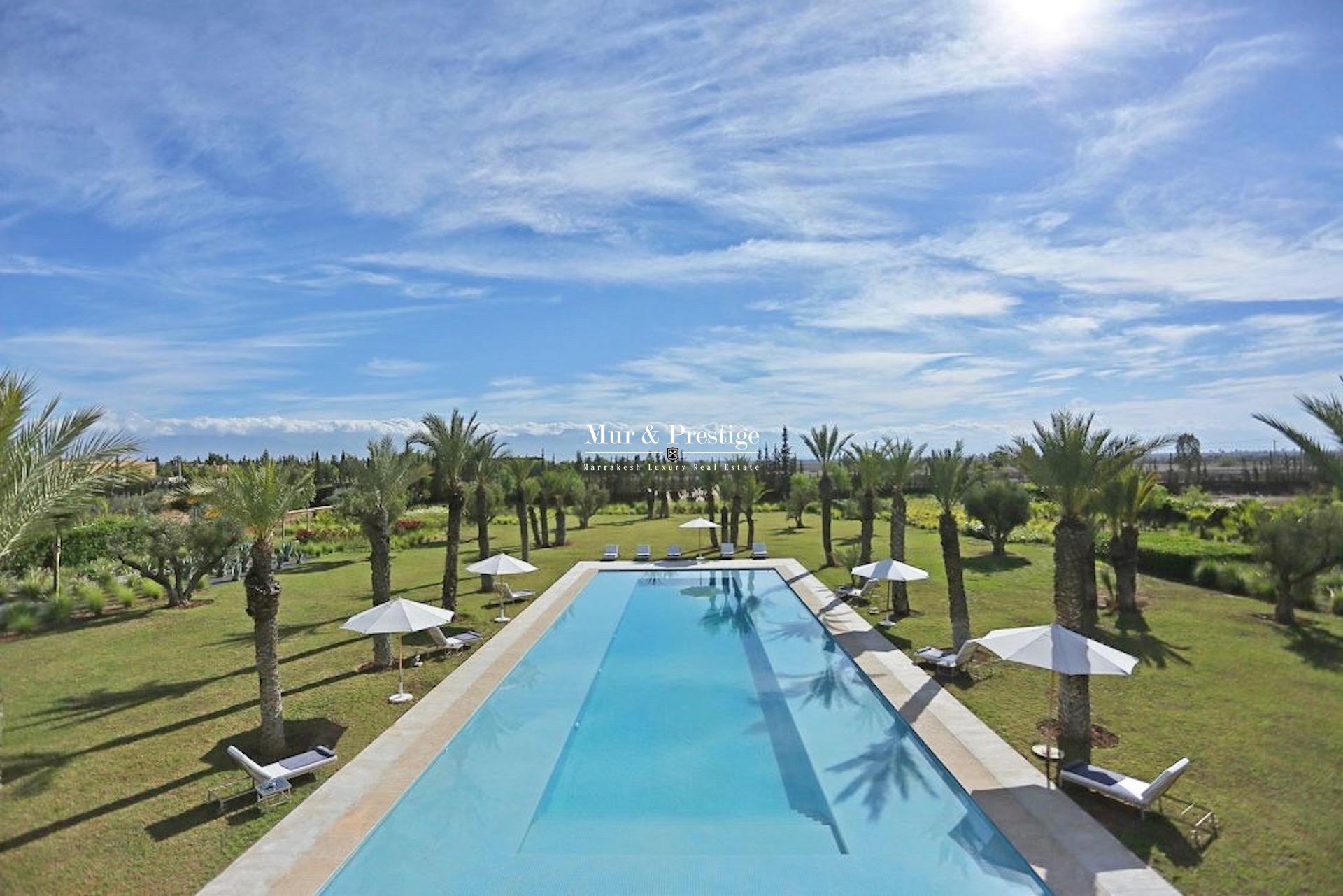 Villa de prestige à la location à Marrakech