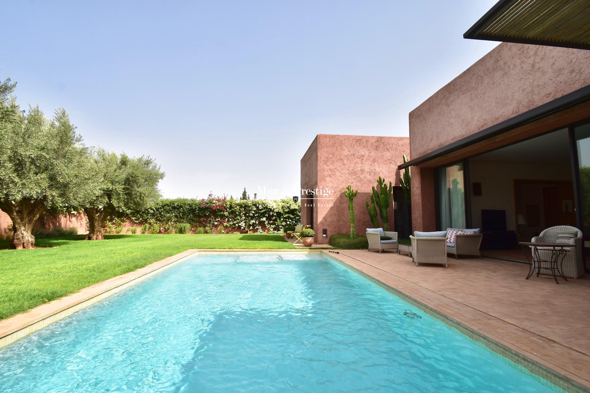 Maison à vendre au golf de Royal Palm Fairmont Marrakech