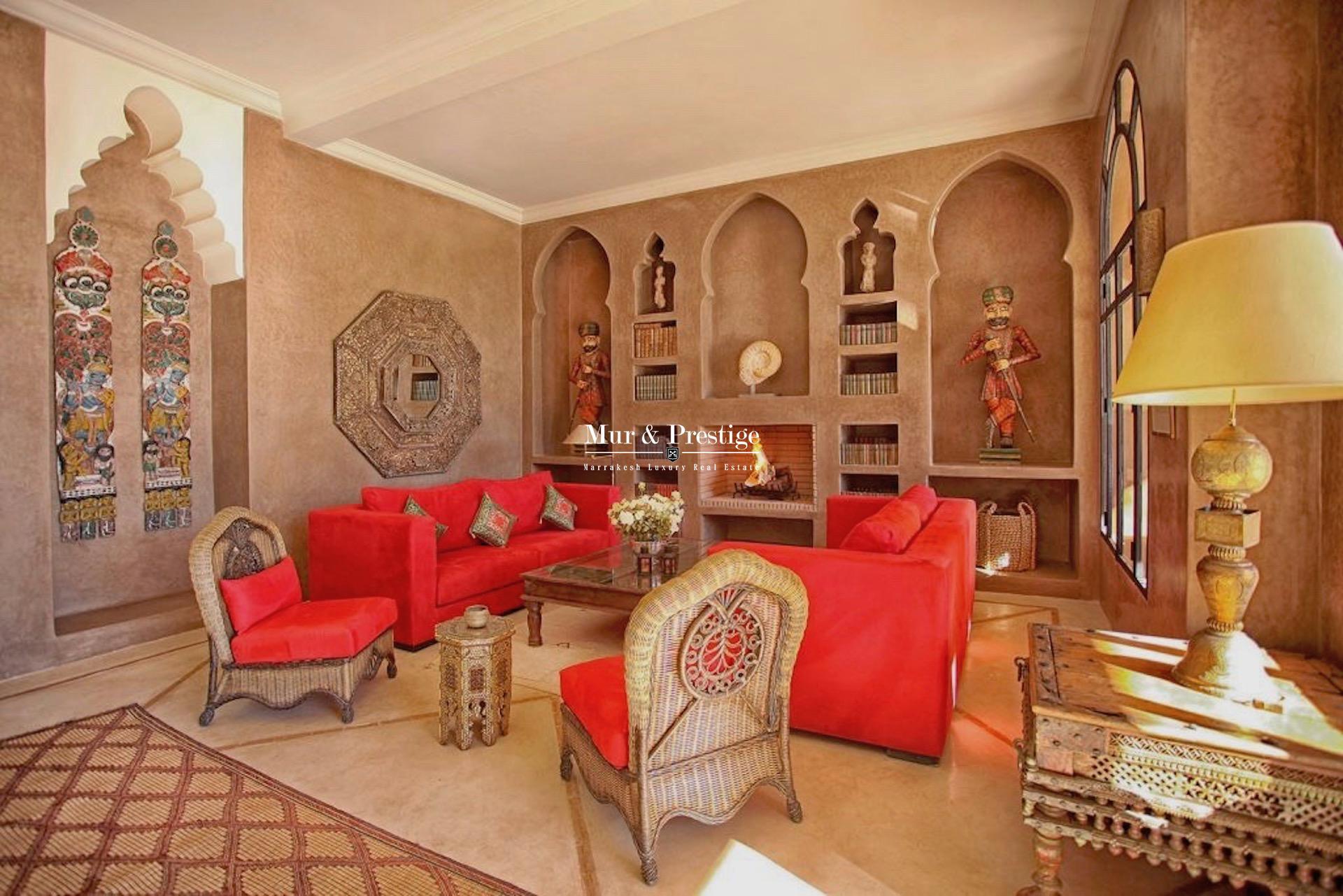 Villa en location saisonnière à Marrakech