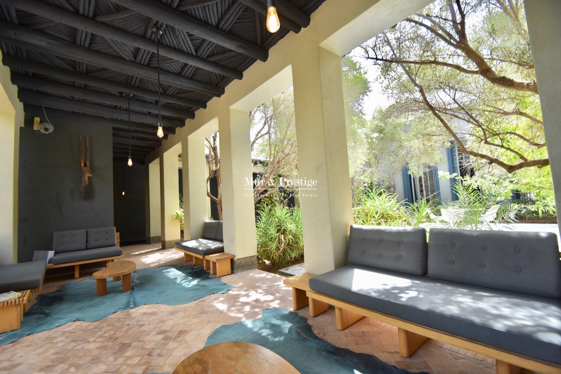 Agence Immobilière Marrakech - Maison de prestige à vendre