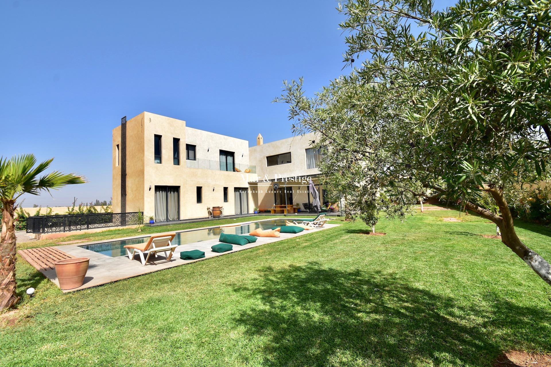 Agence Immobilière à Marrakech - Maison moderne en vente