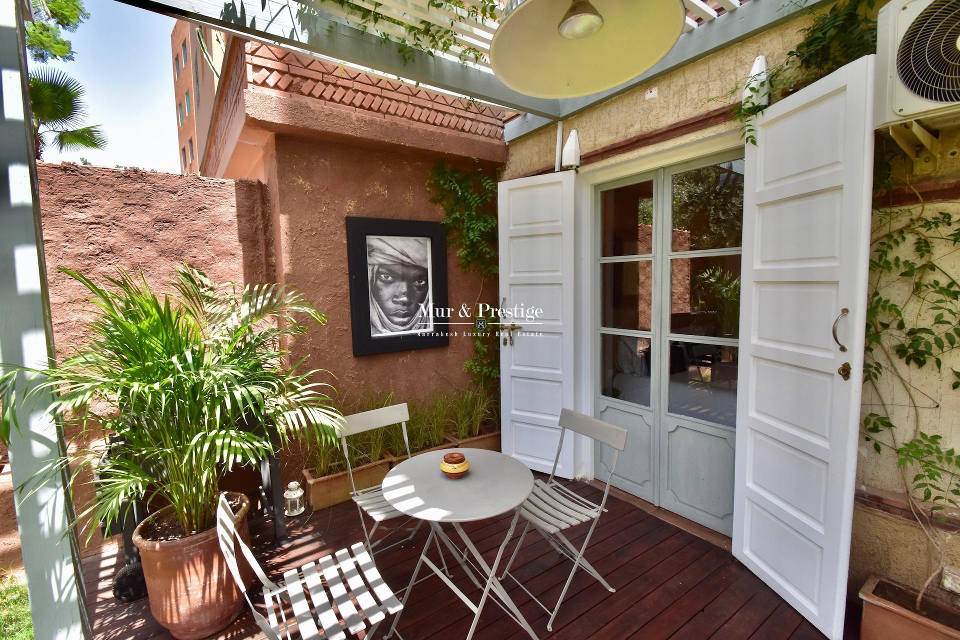 Appartement à rénover à Marrakech quartier Hivernage