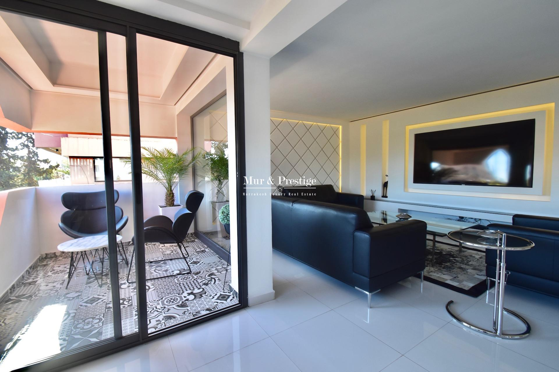 Appartement moderne à vendre au cœur du quartier de l'Hivernage à Marrakech