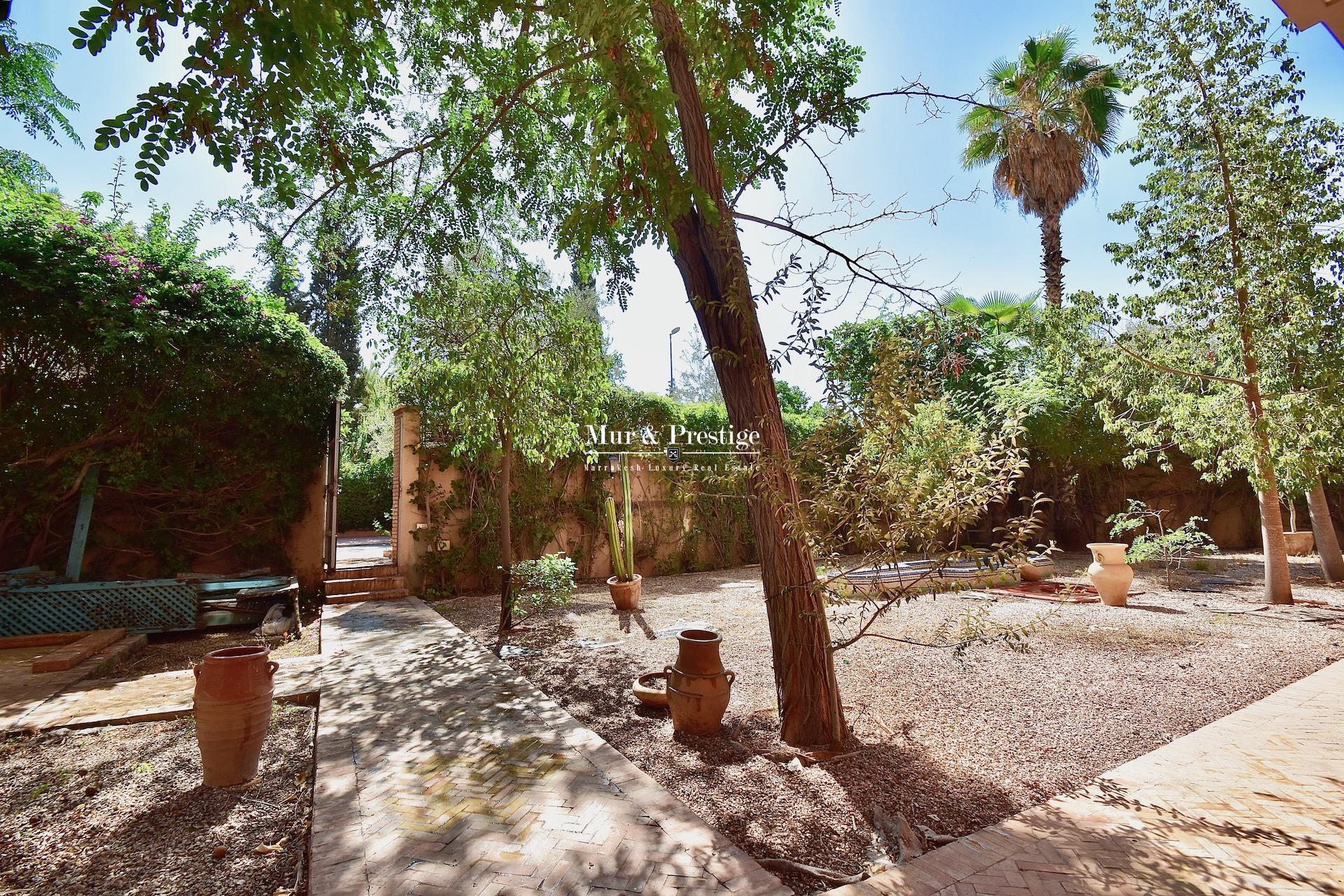 Appartement en vente à Marrakech de 560m2 au cœur de l'Hivernage