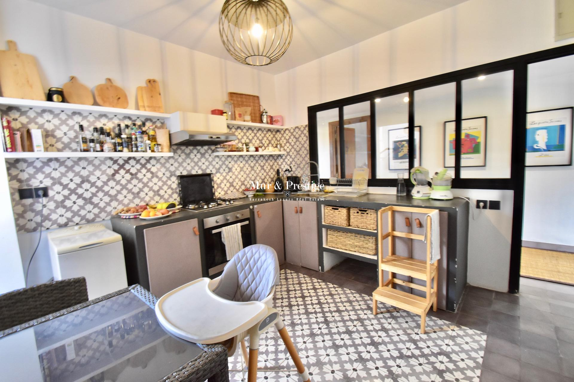 Jardin Majorelle - Appartement à vendre - Agence Immobilière Marrakech