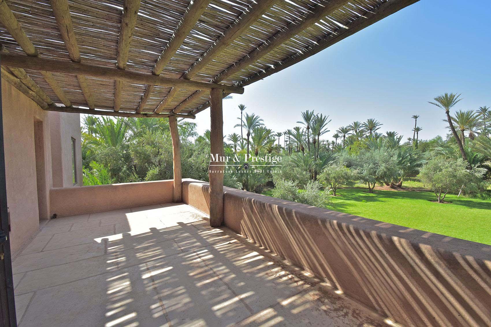 Belle villa a vendre dans la palmeraie Marrakech