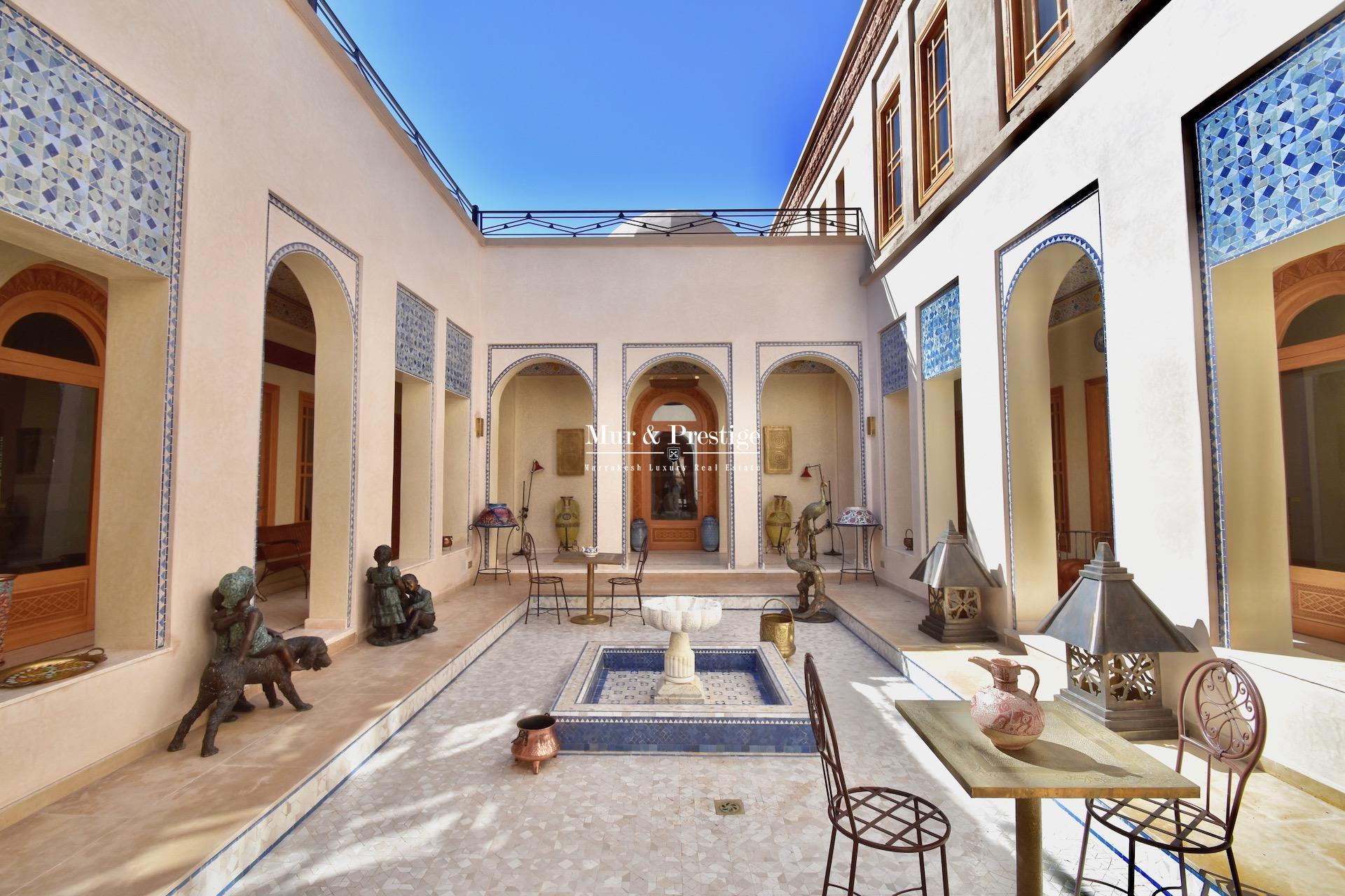 Maison à vendre à la Palmeraie de Marrakech