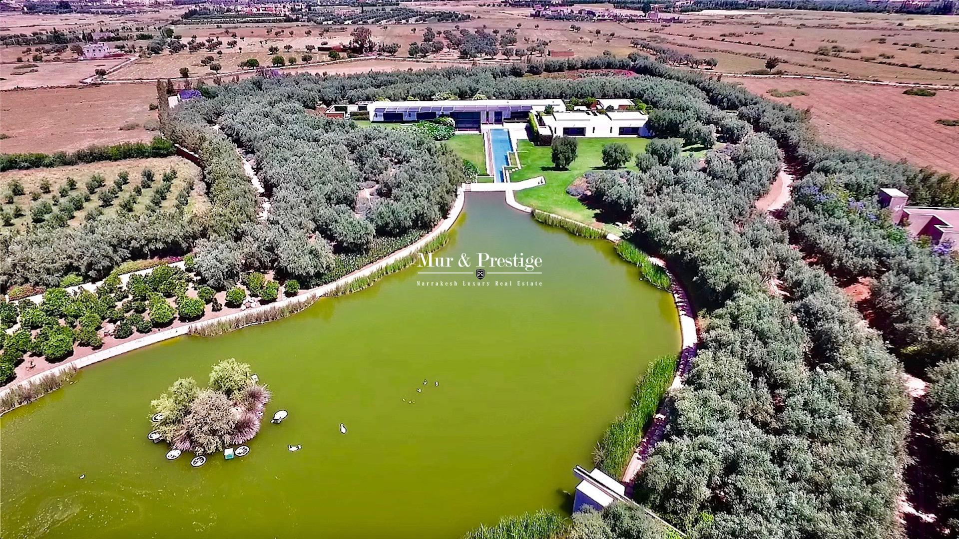 Demeure de Prestige sur 4 hectares en vente à Marrakech