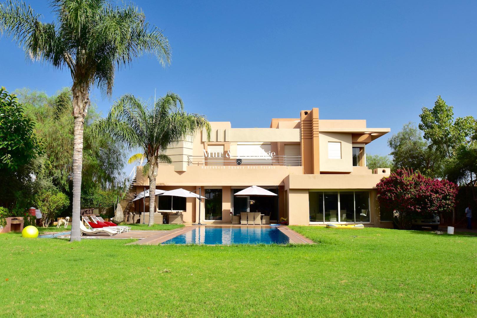Maison moderne � vendre � Marrakech