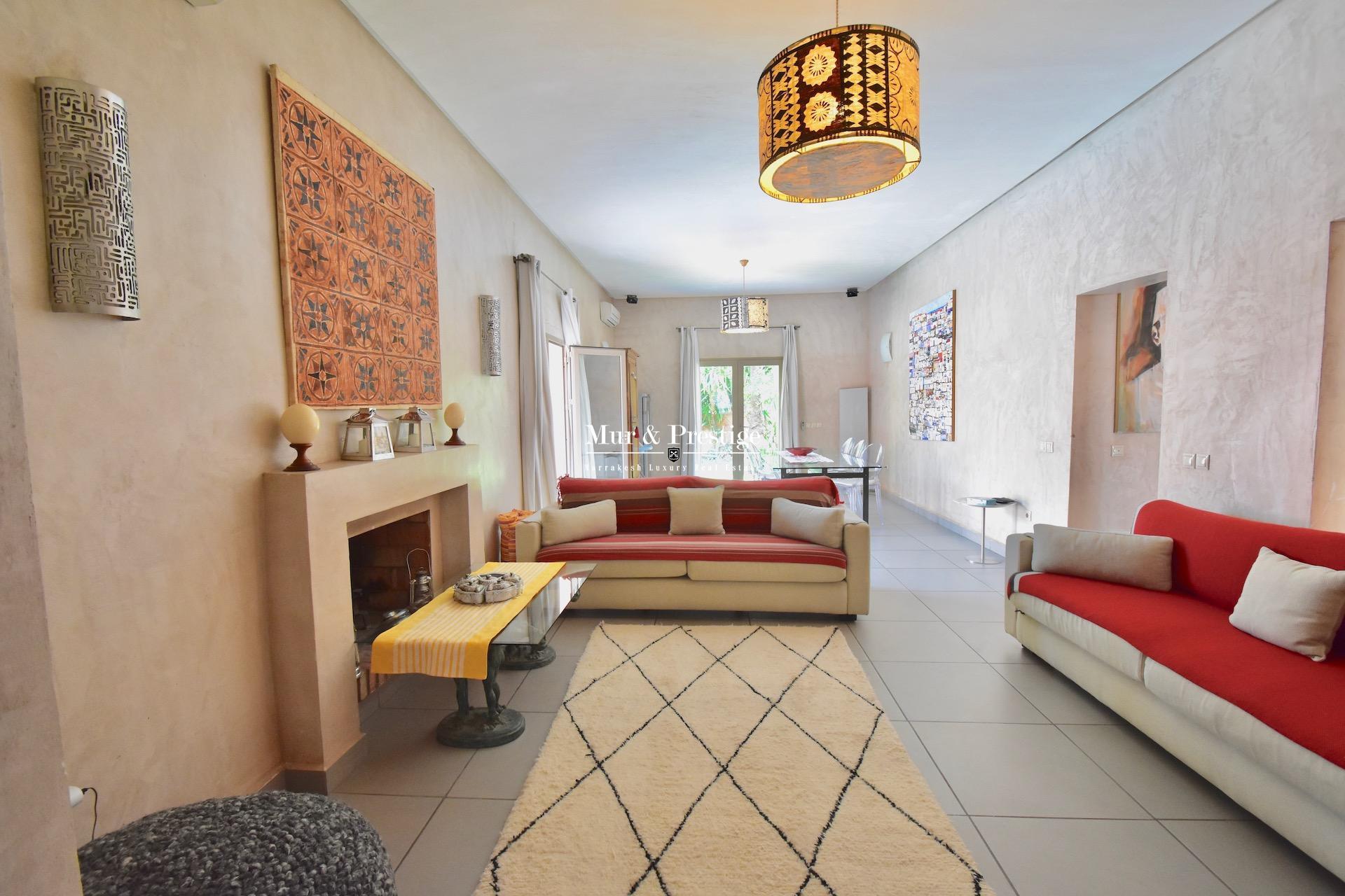 Maison de plain-pied à vendre en centre-ville à Marrakech
