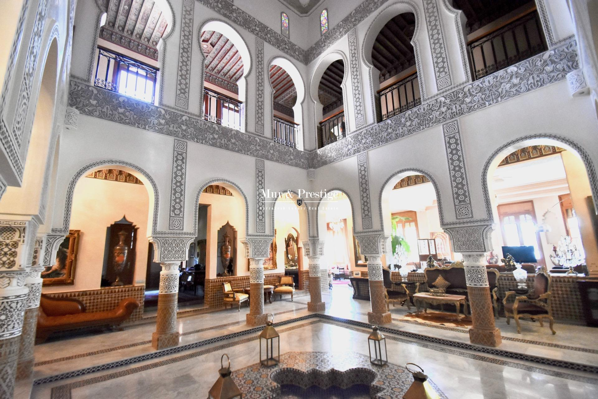 Propri�t� de style marocain en vente � Marrakech