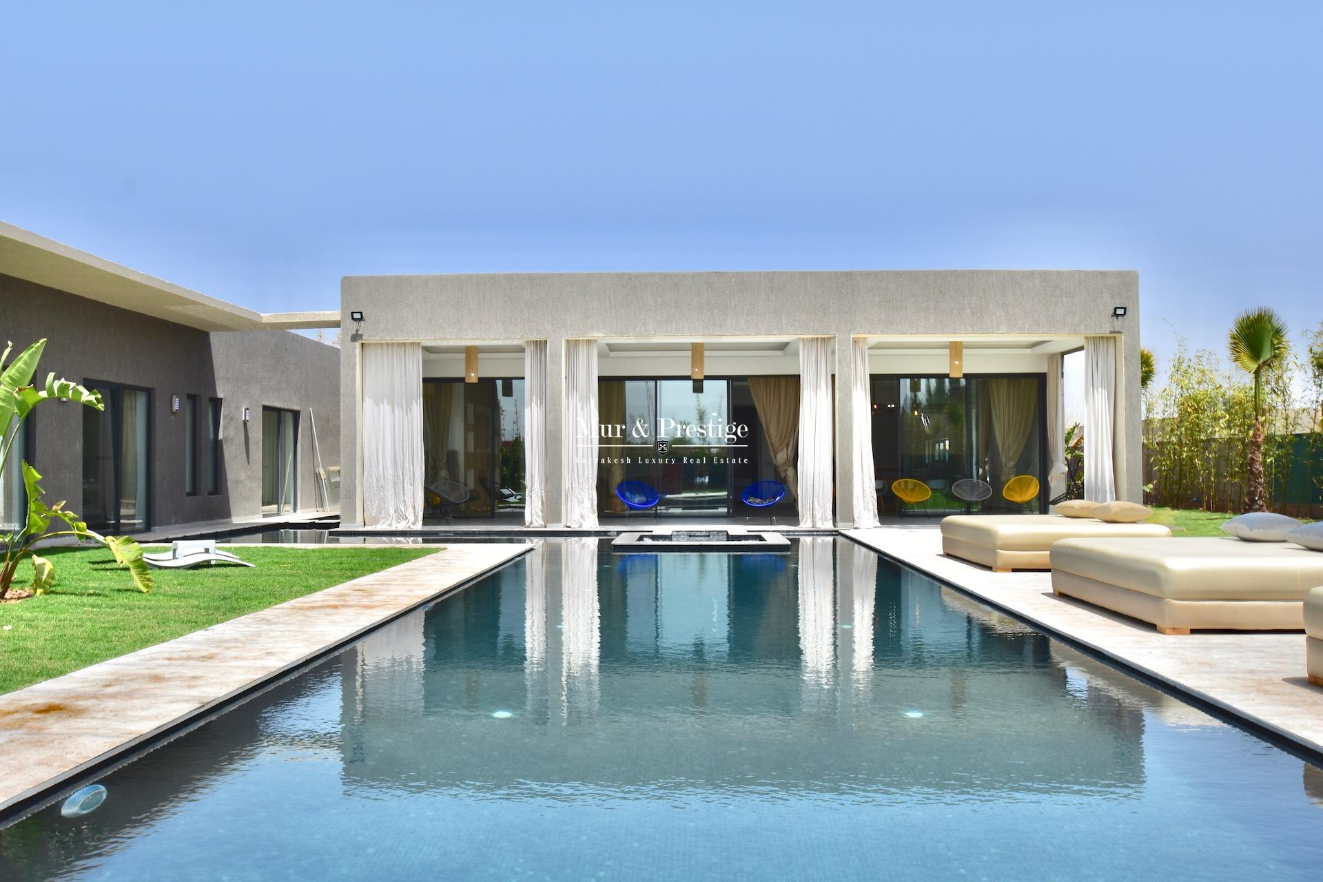 Villa de plain-pied  à vendre à Marrakech