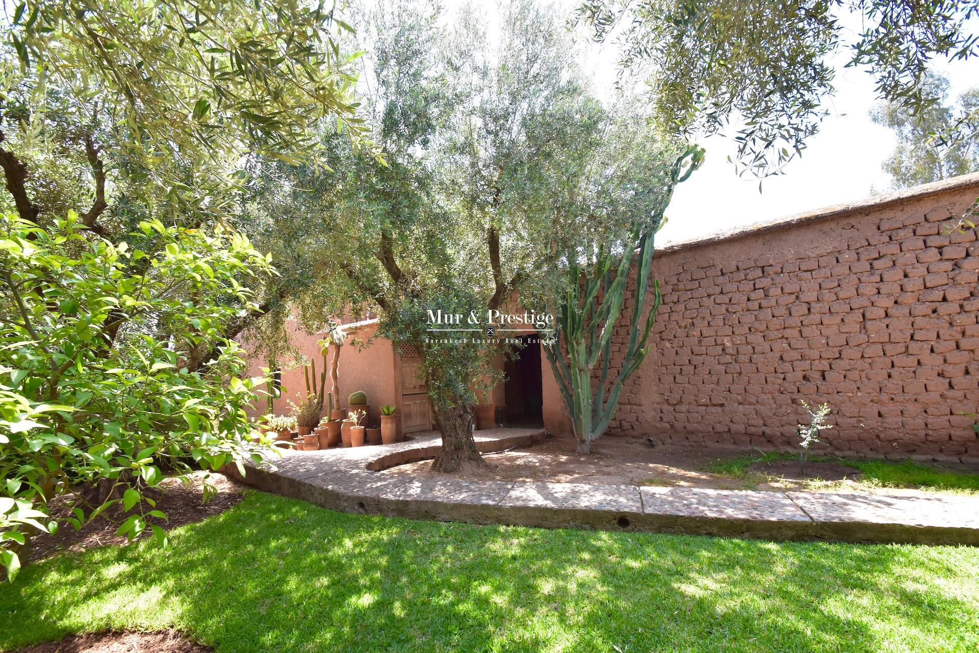 Maison d'hôtes de style ferme berbère à vendre