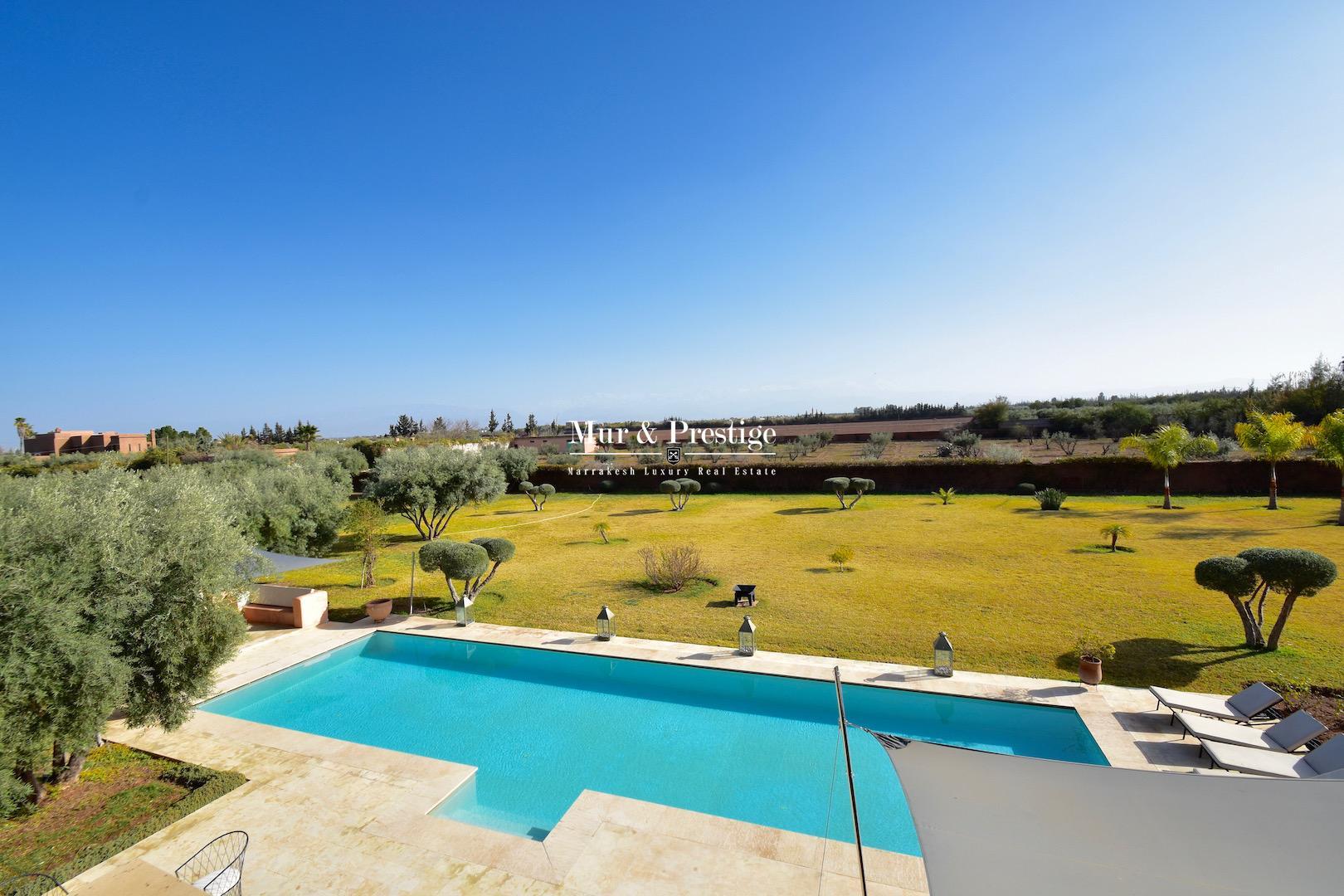 Villa moderne à vendre à Marrakech