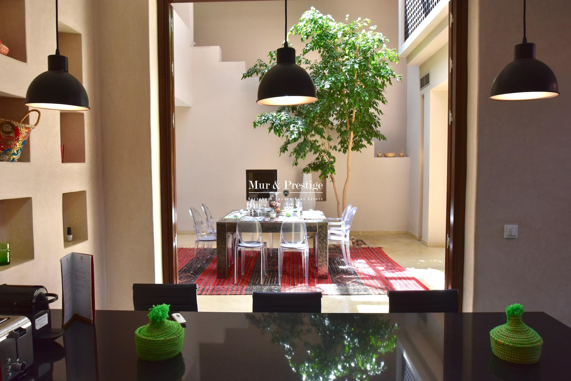 Villa-Riad à vendre sur le golf de Al Maaden