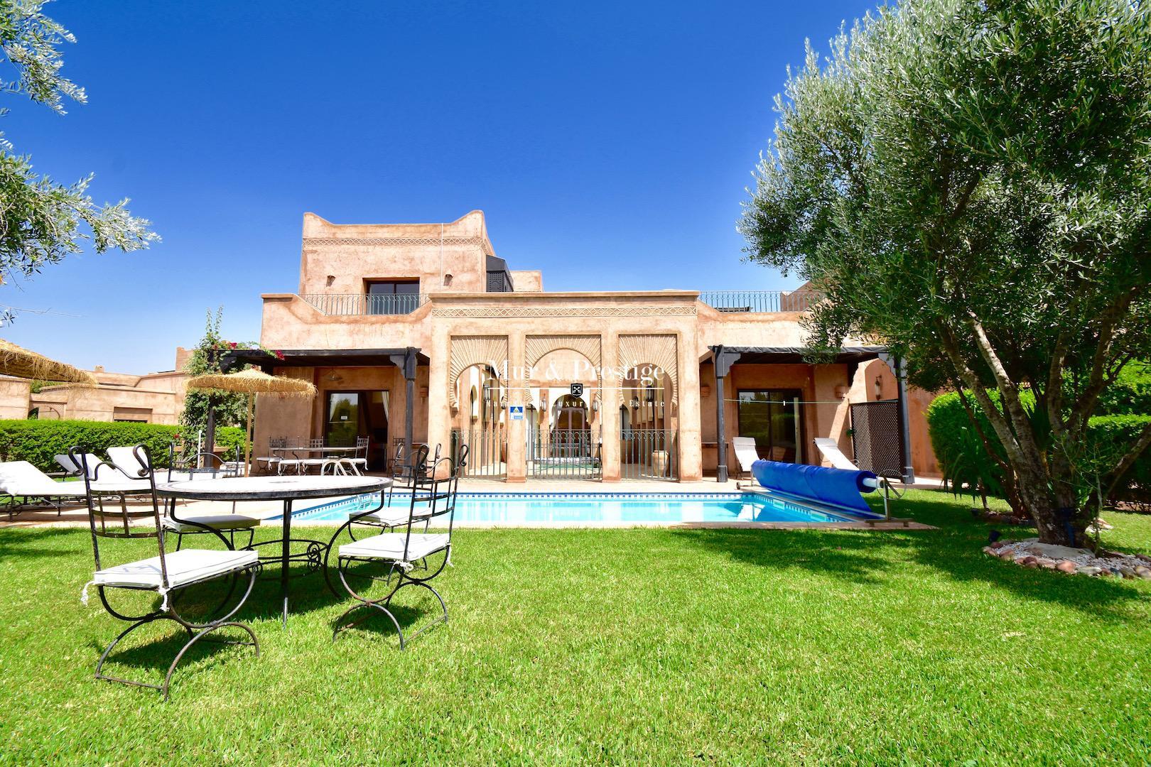 Villa de charme � vendre � Marrakech