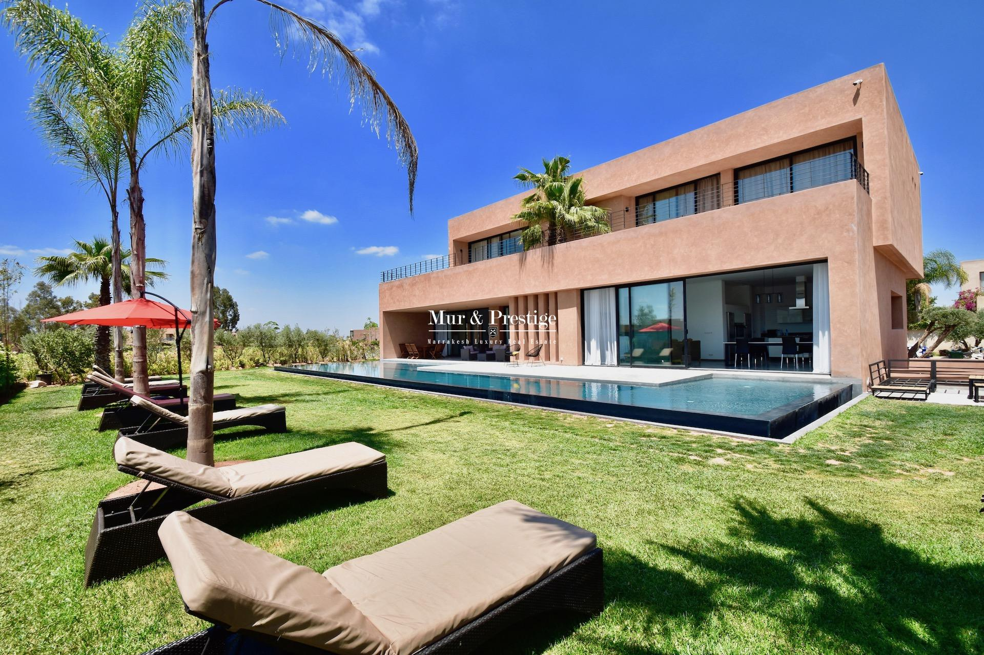 Maison neuve à vendre sur golf à Marrakech
