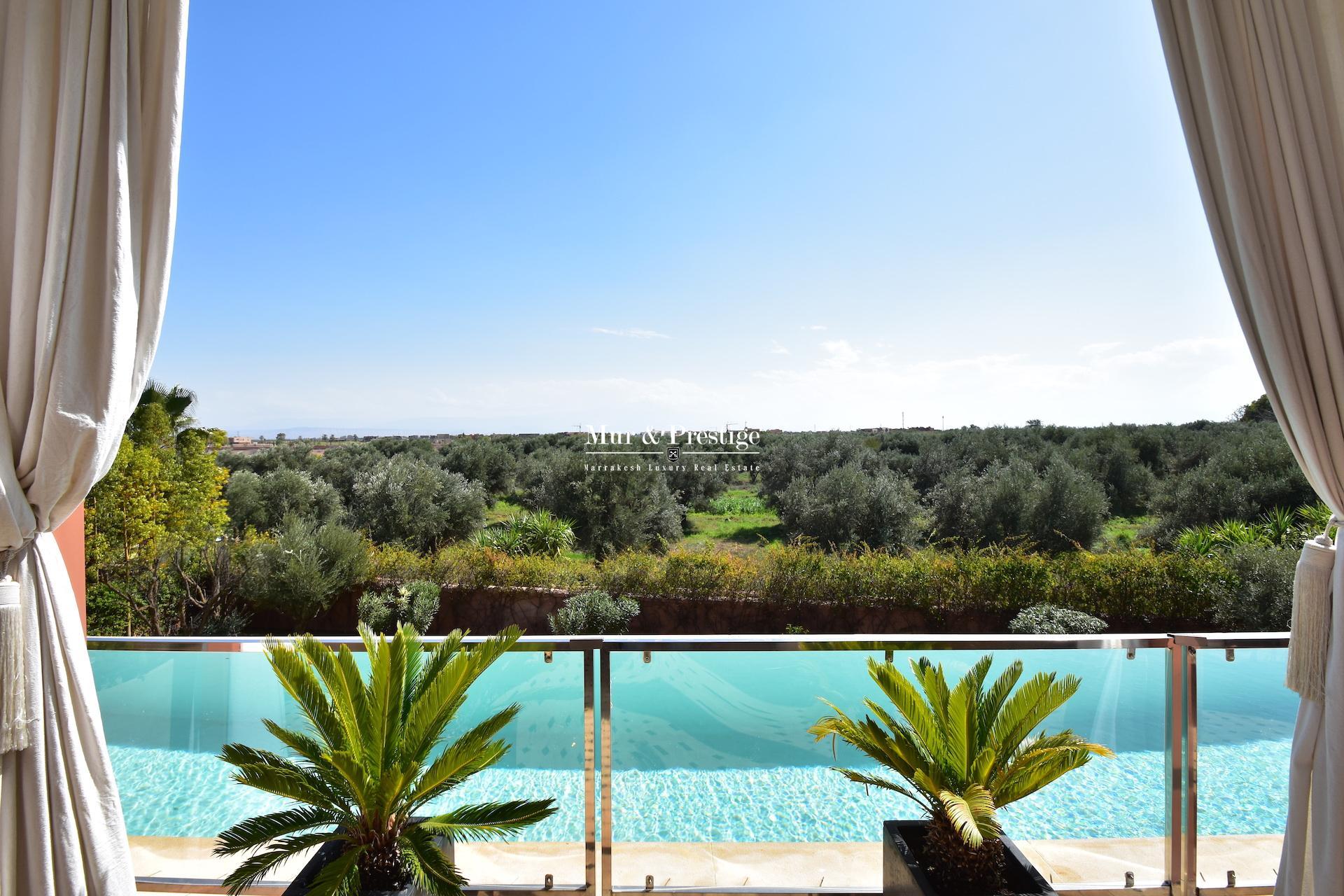 Maison moderne à vendre au Golf Amelkis à Marrakech