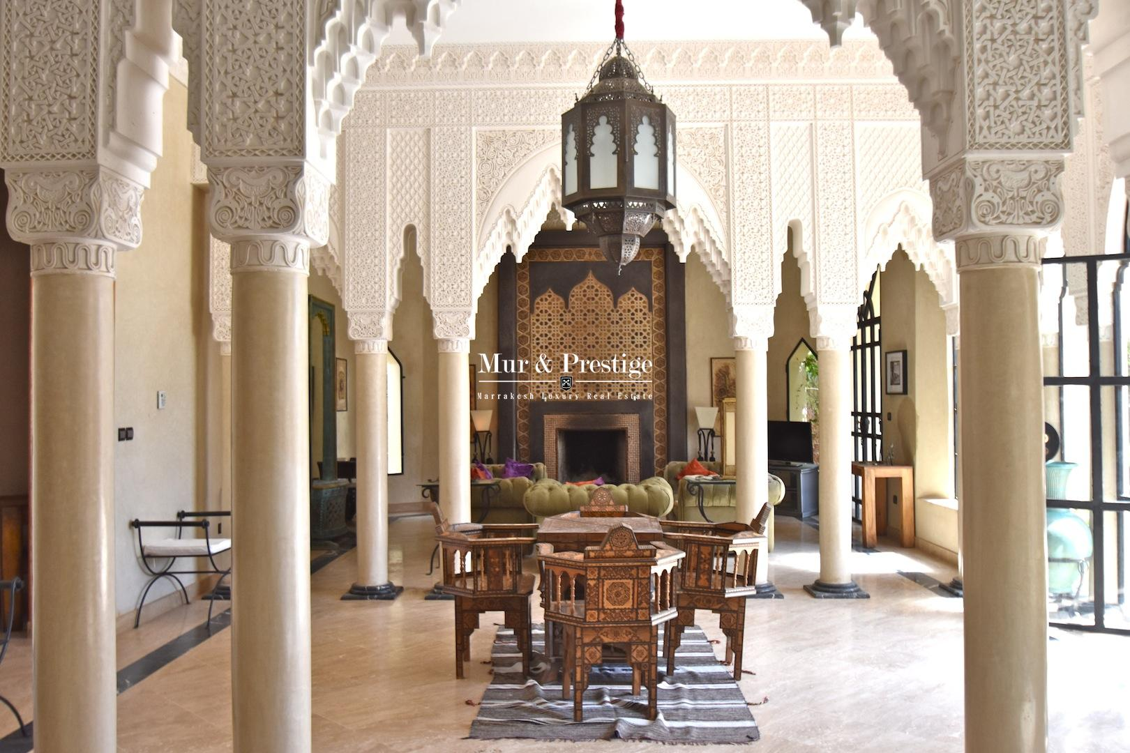 Maison à la vente sur golf à Marrakech