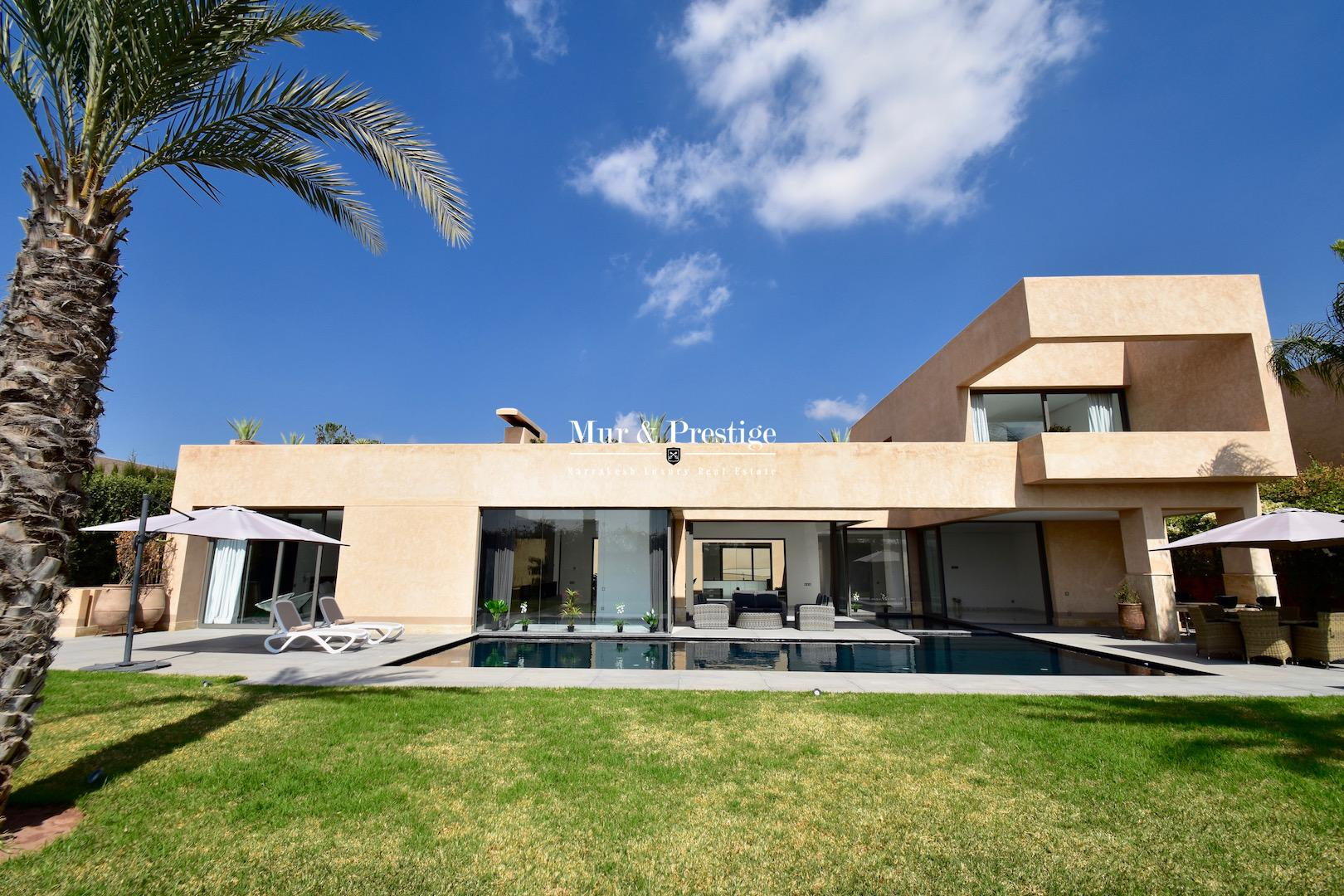Maison contemporaine � vendre � Marrakech