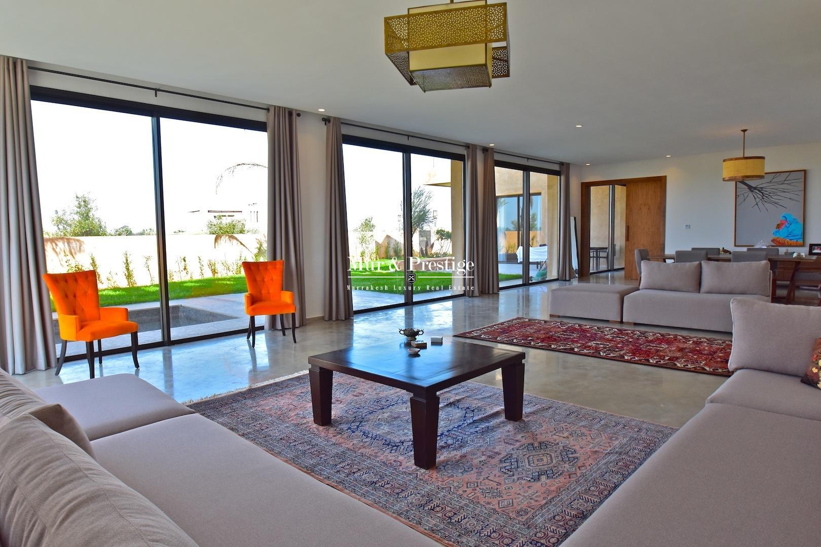 Maison sur golf à vendre à Marrakech