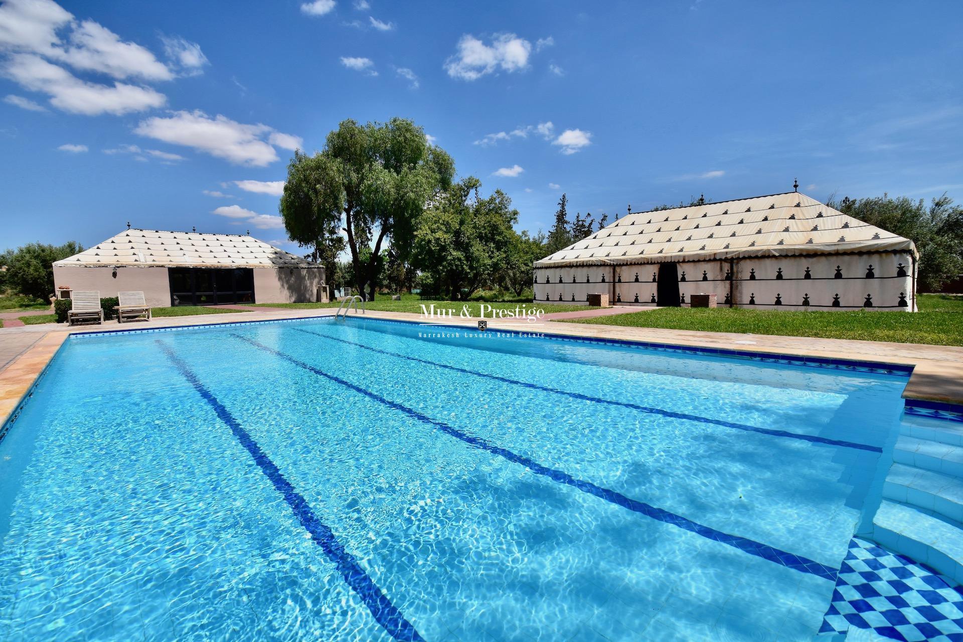 Hacienda rénovée à vendre à Marrakech