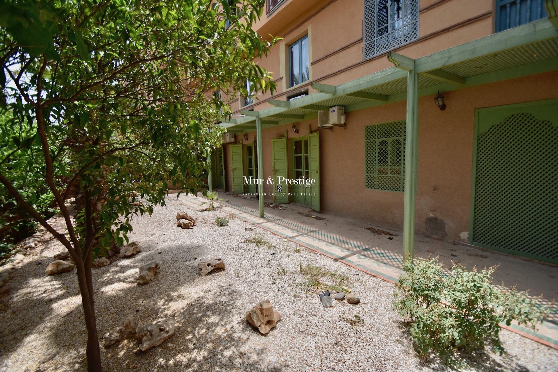 Appartement à vendre au coeur duquartier Hivernage à Marrakech
