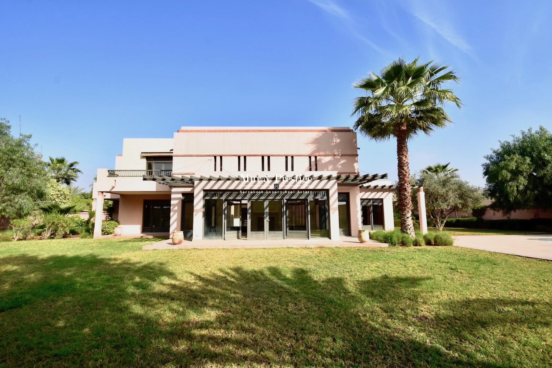 Four Seasons Marrakech : Villa � vendre